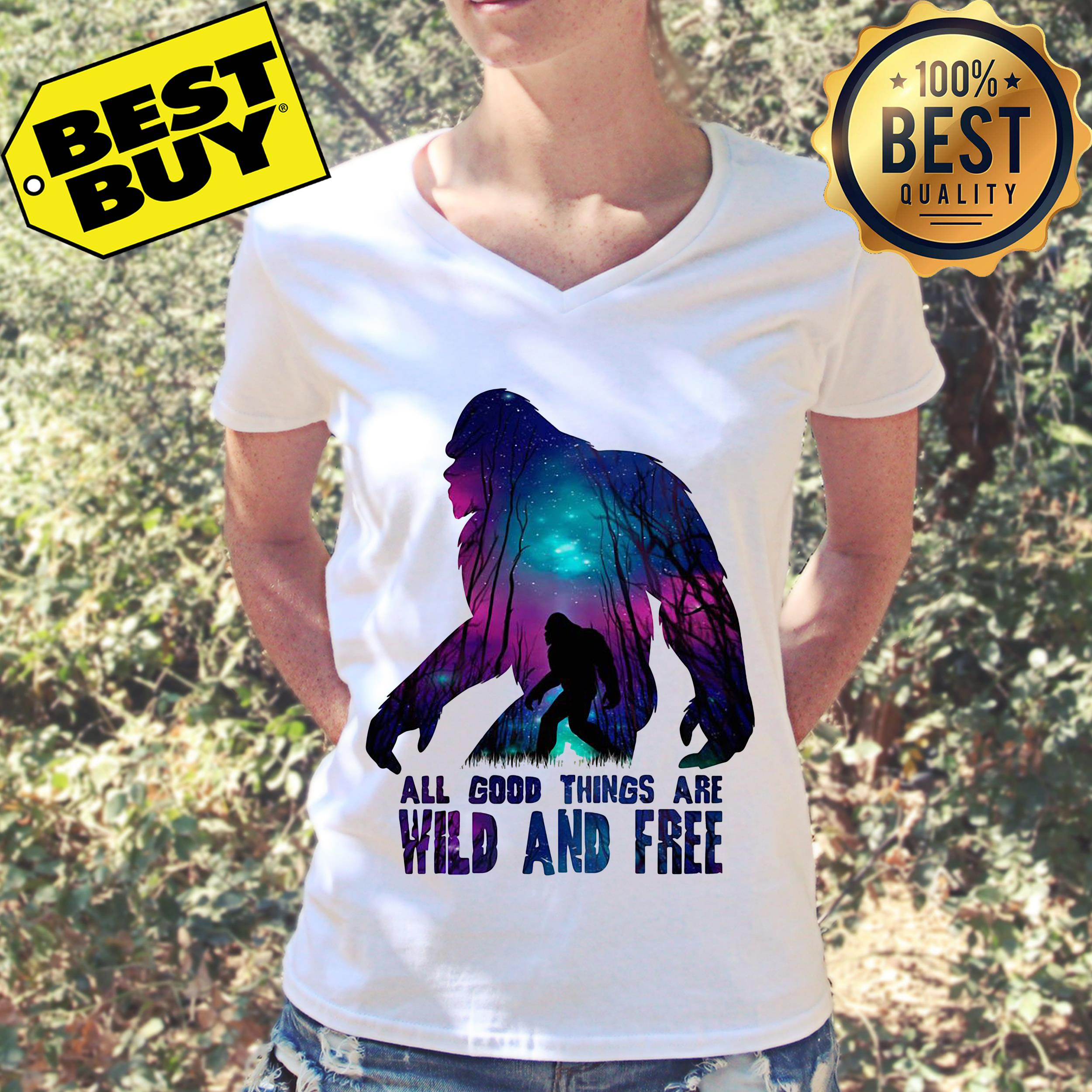 All good things wild and free v-neck