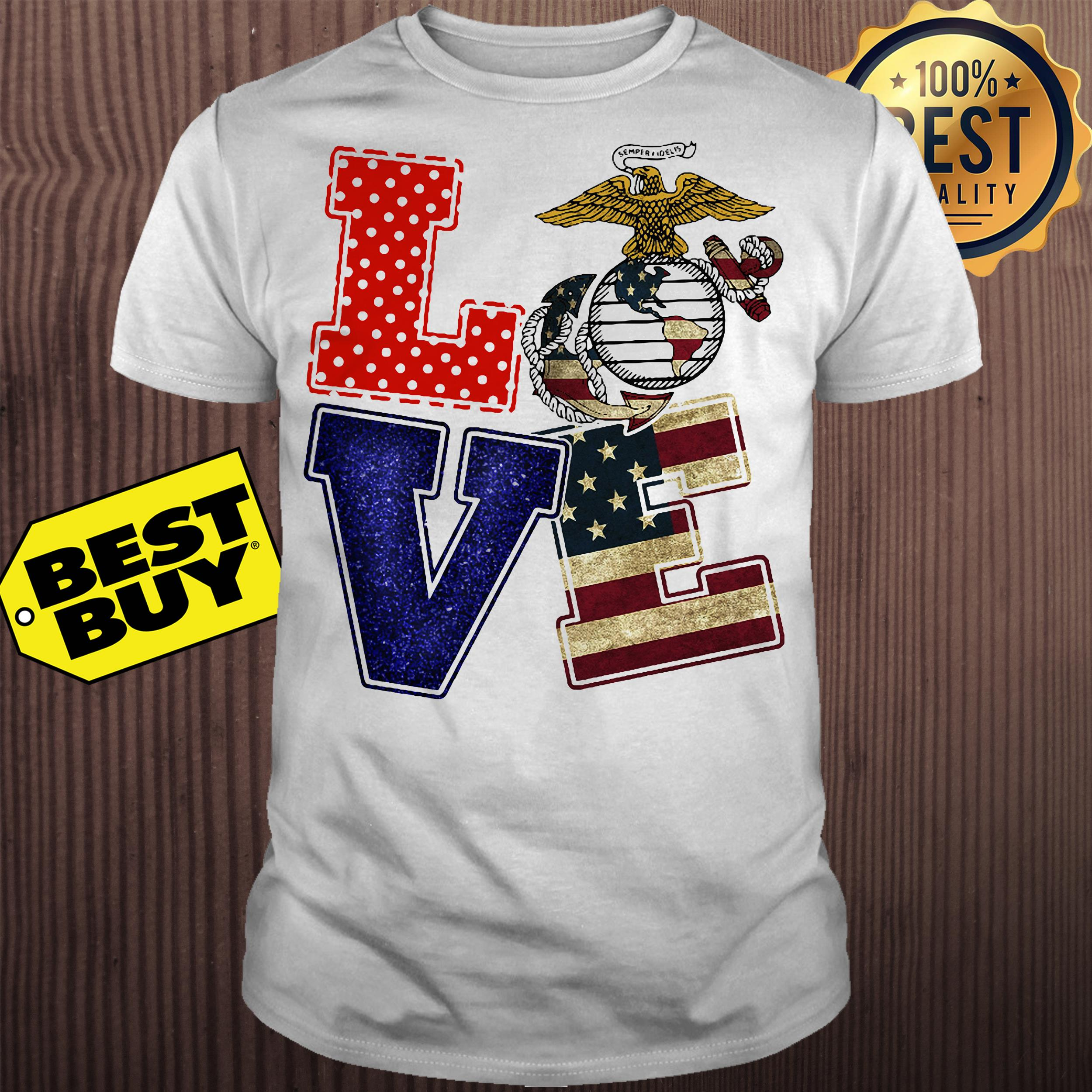 American Eagle Love Freedom shirt