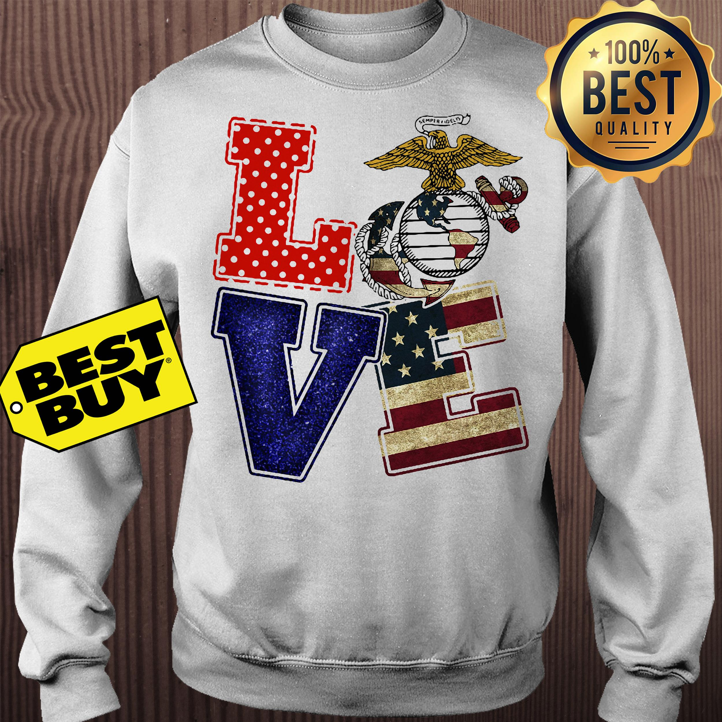 American Eagle Love Freedom sweatshirt