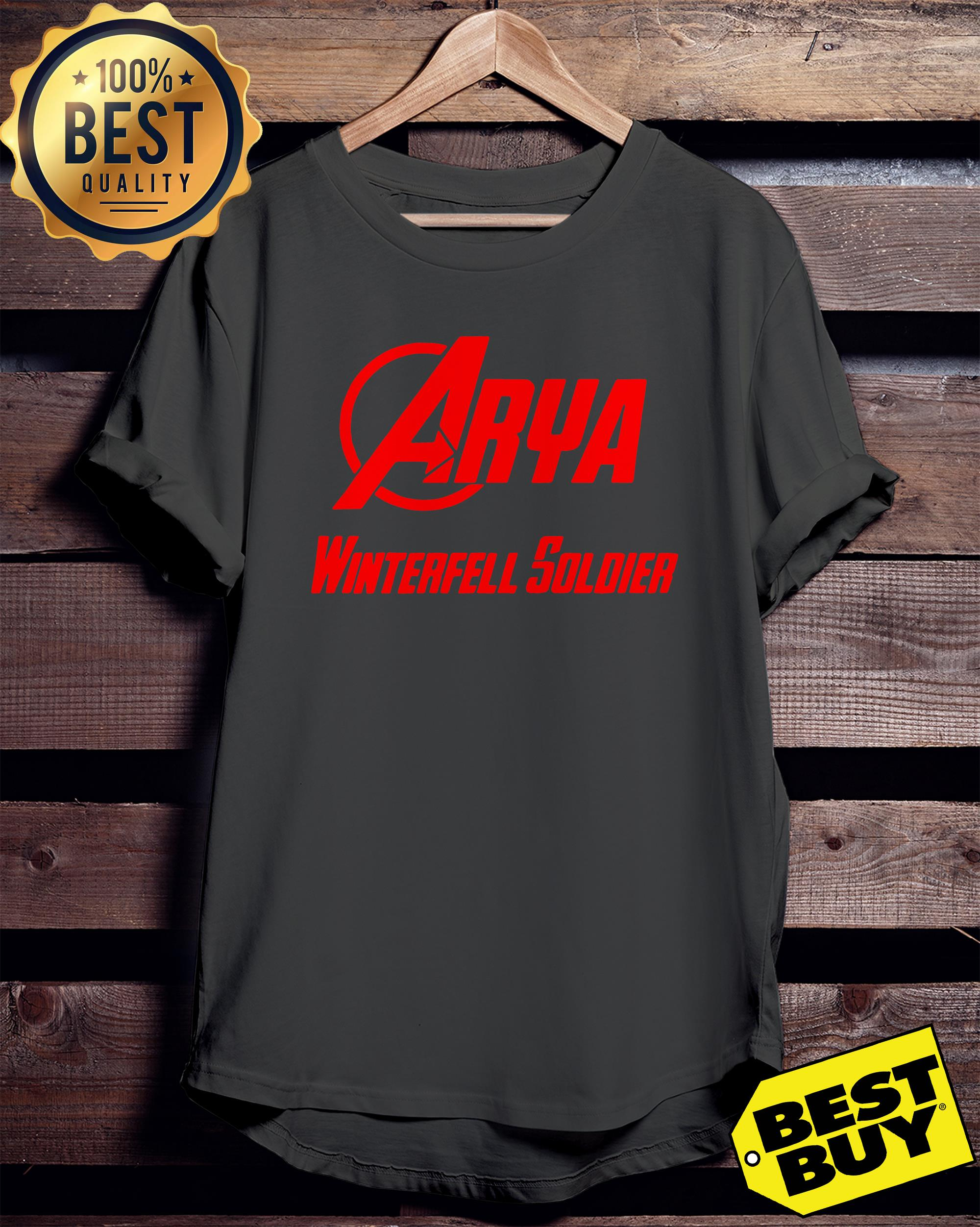 Arya Stark Winterfell Soldier Game of Thrones ladies tee