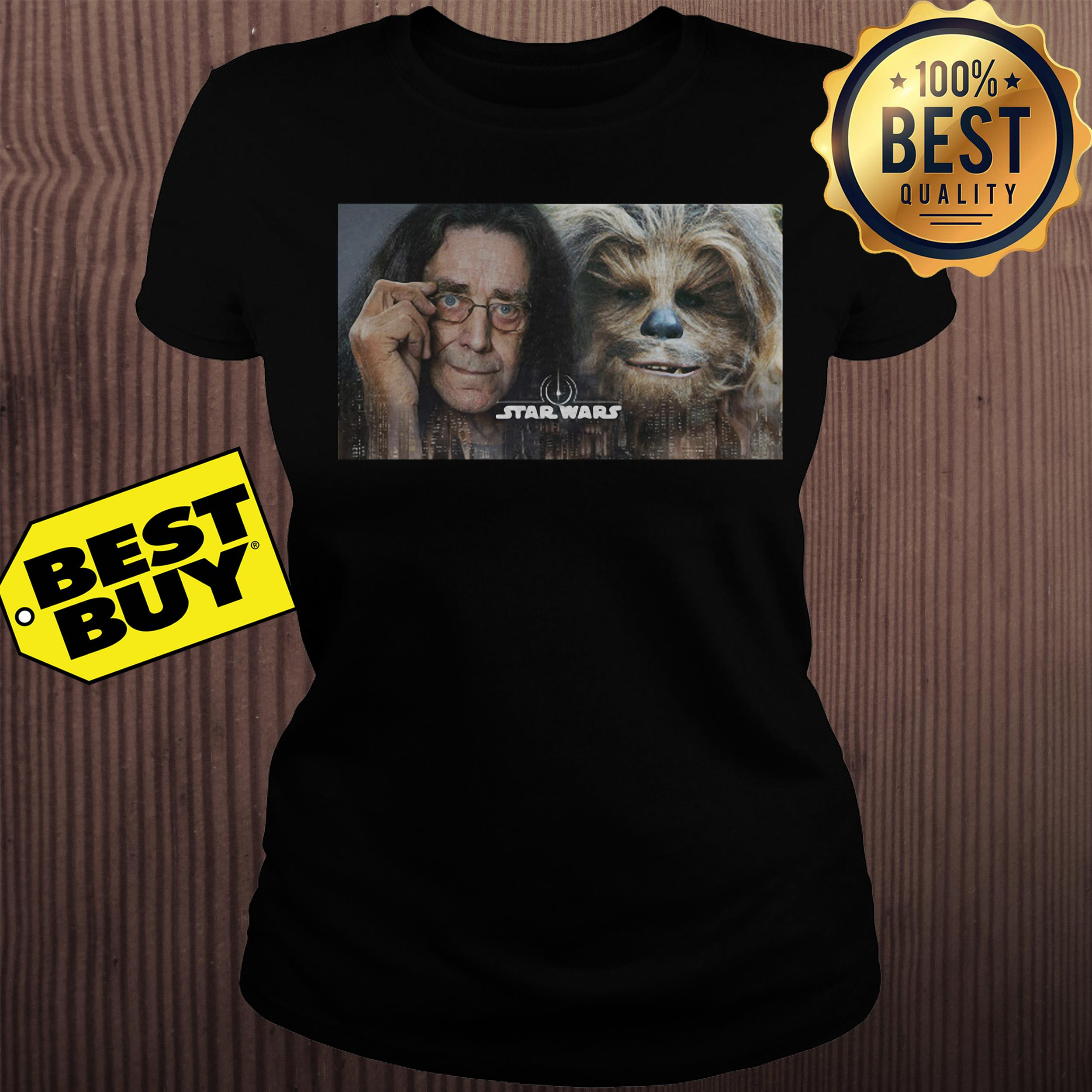 Chewbacca Peter Mayhew Star Wars ladies tee