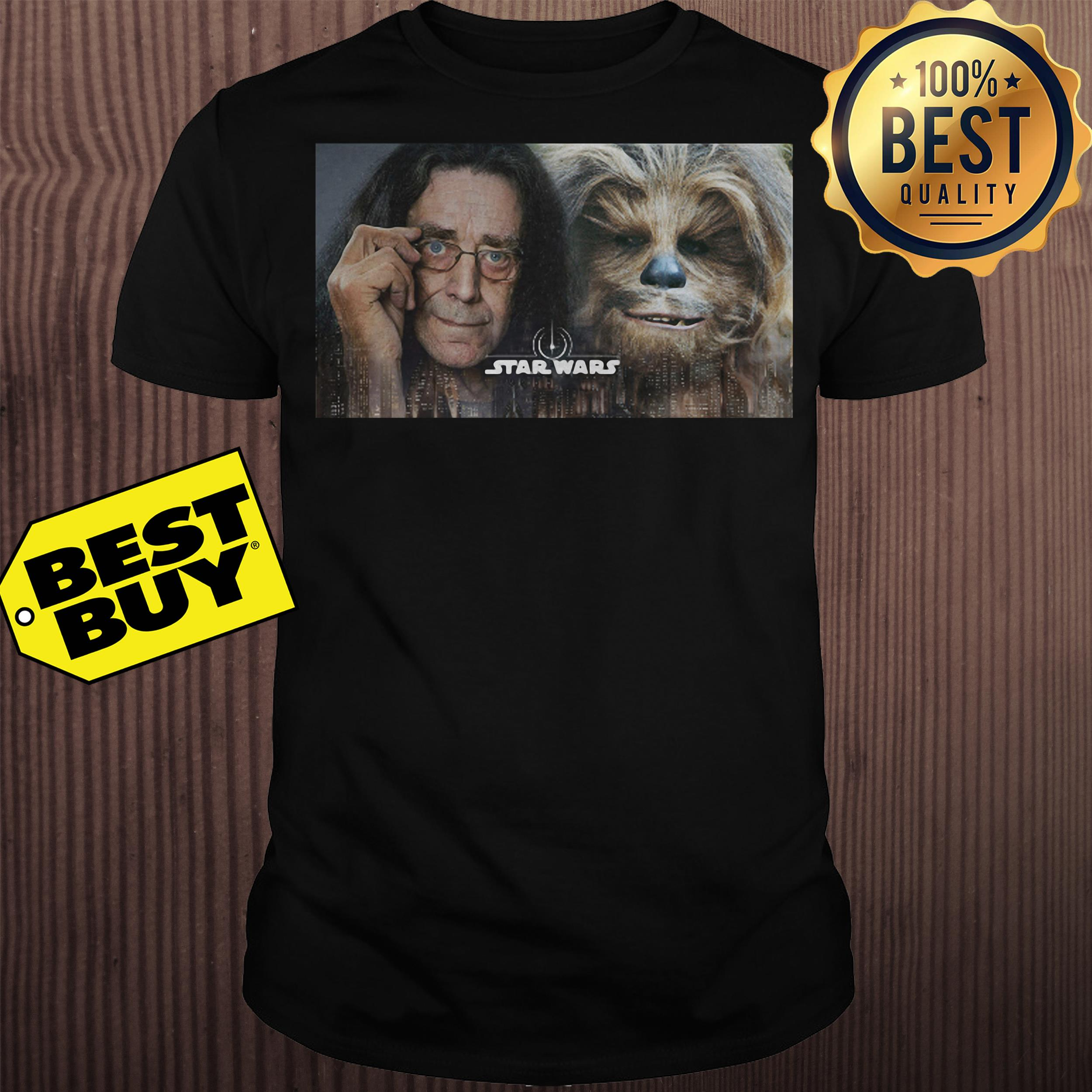 Chewbacca Peter Mayhew Star Wars Shirt