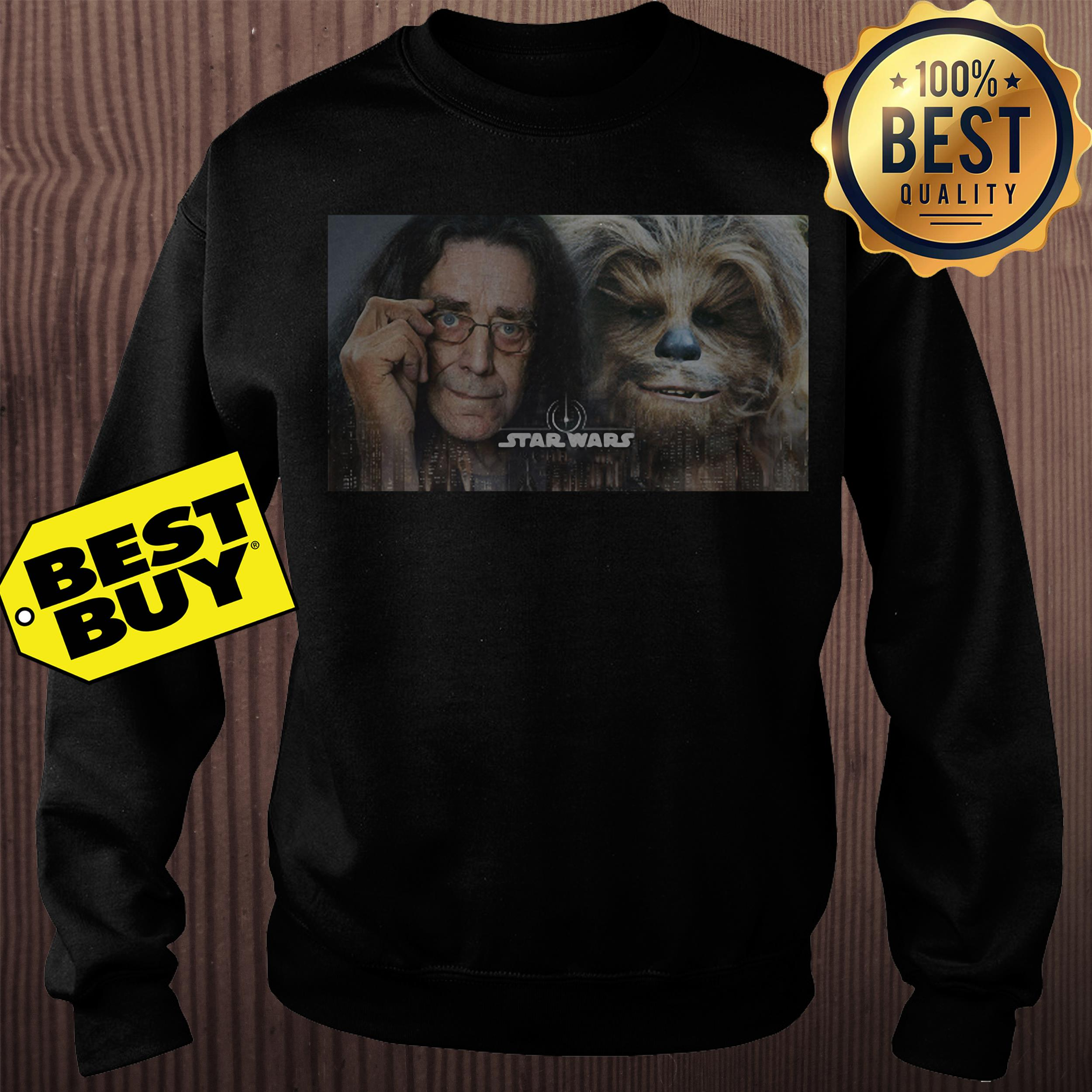 Chewbacca Peter Mayhew Star Wars sweathirt