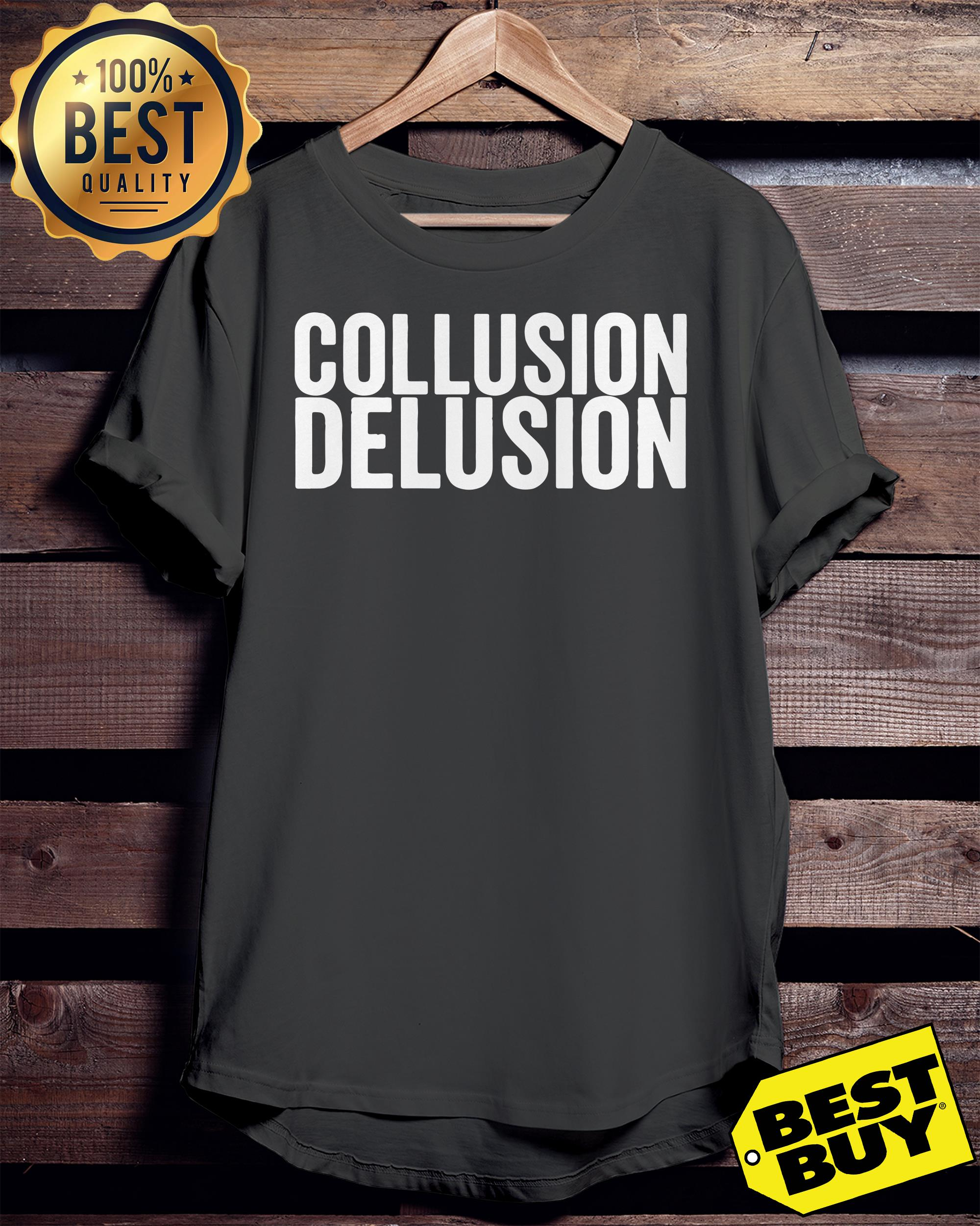 Collusion delusion ladies tee