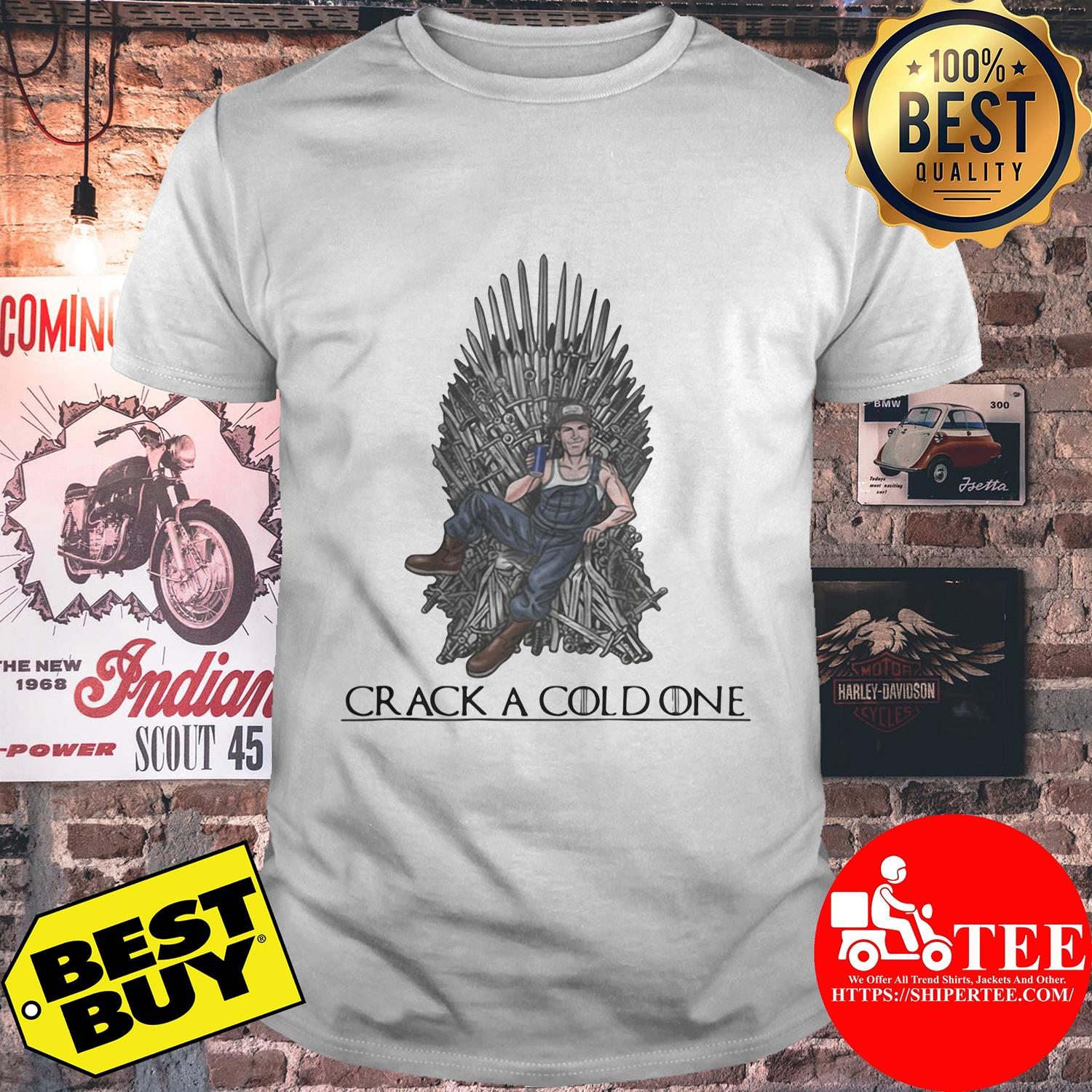 Crack a cold one Game of Thrones shirt