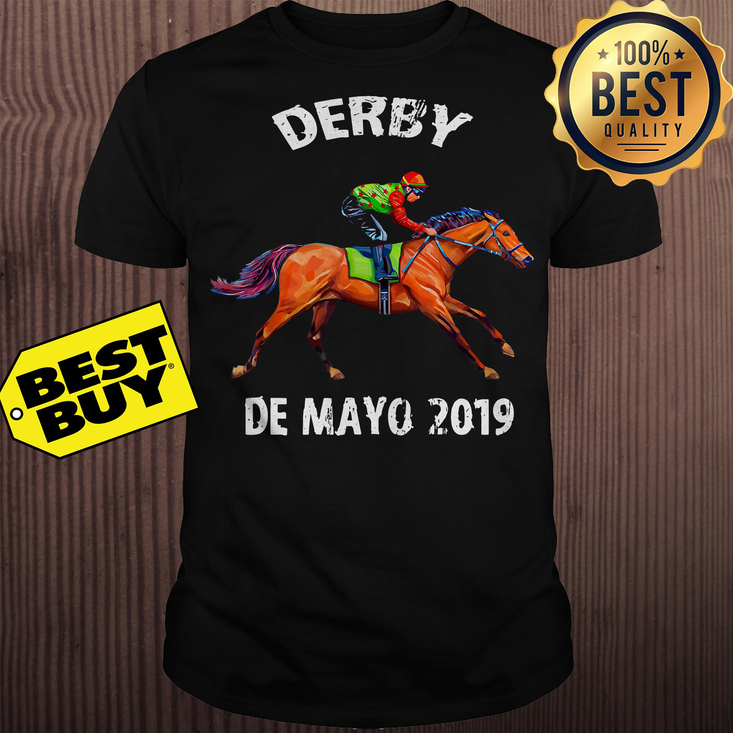 Derby De Mayo Kentucky Horse Race shirt