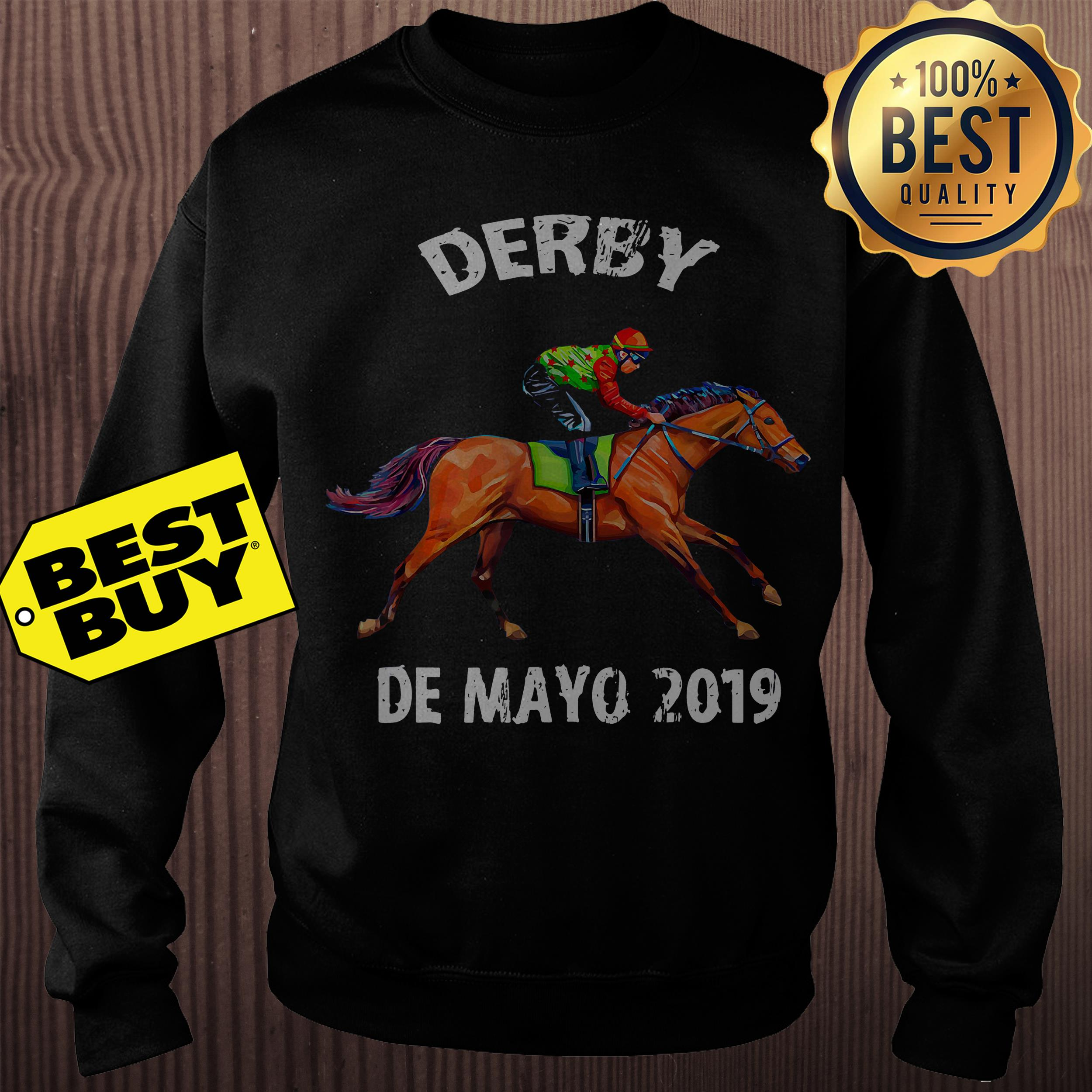 Derby De Mayo Kentucky Horse Race sweatshirt