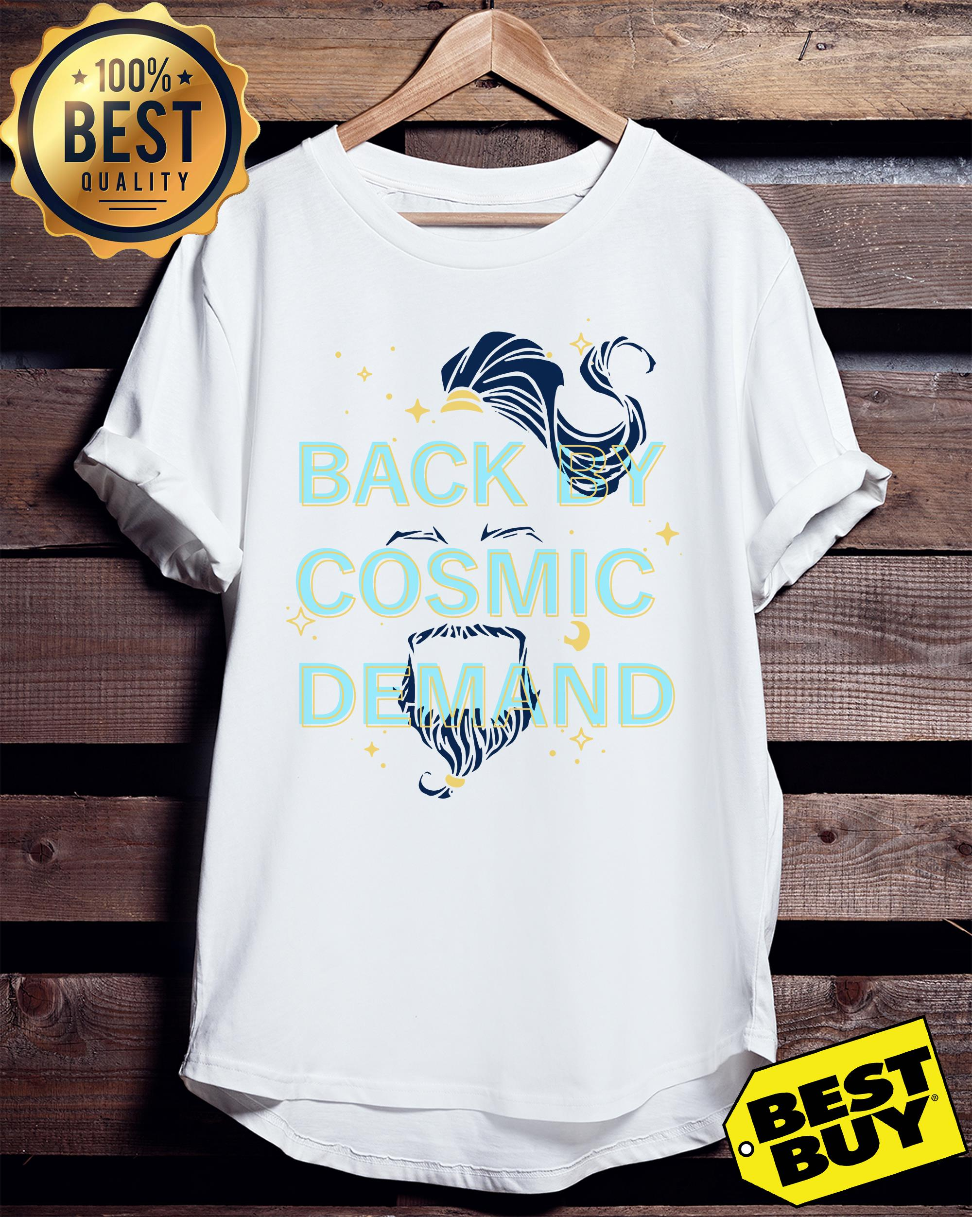 Disney Aladdin 2019 back by cosmic demand ladies tee