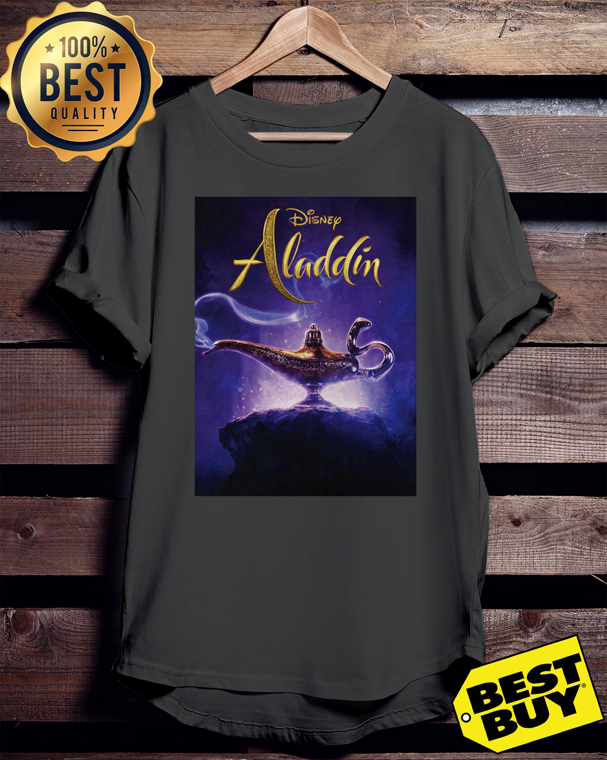 Disney Aladdin and the magic lamp ladies tee