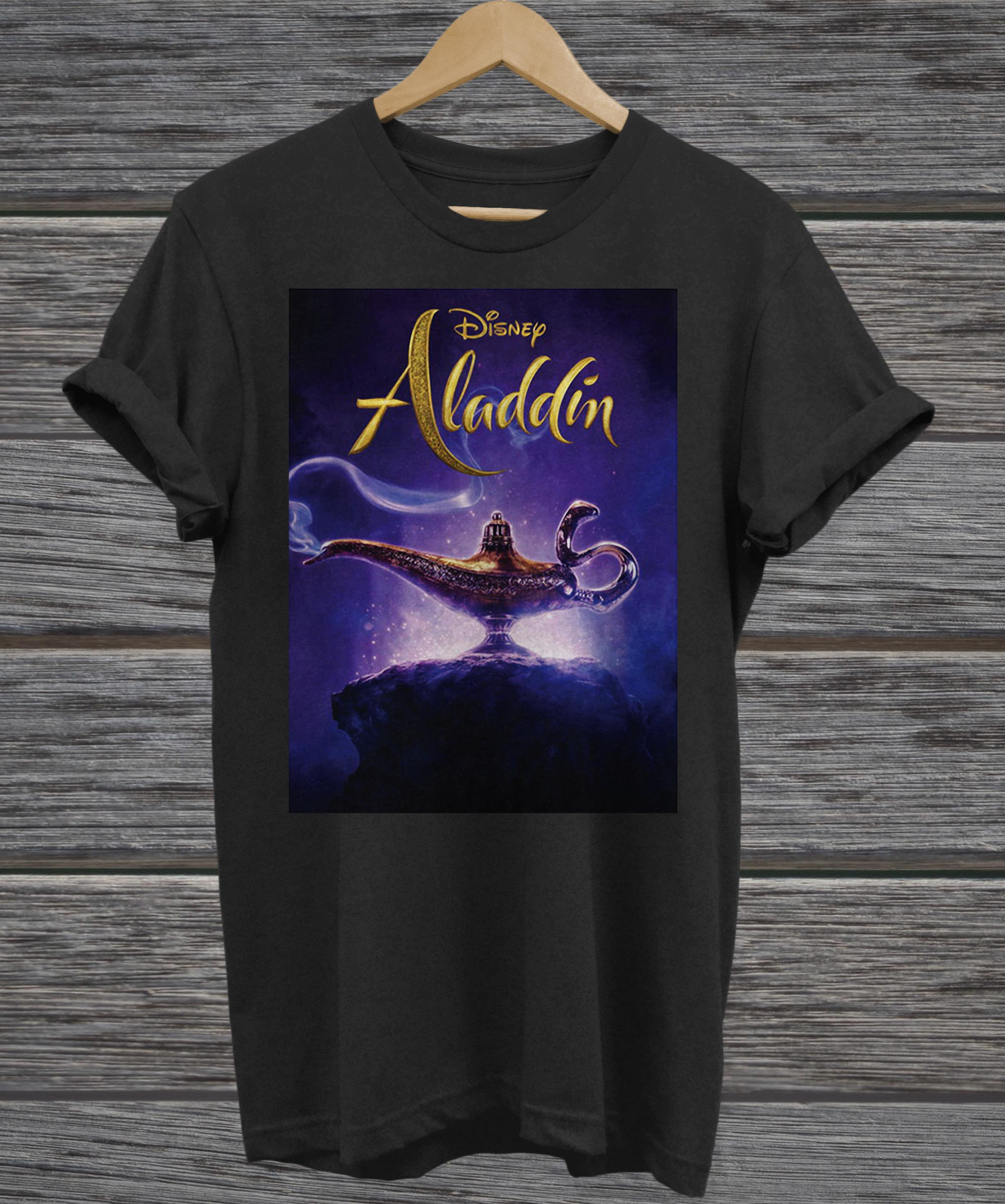 Disney Aladdin and the magic lamp v-neck