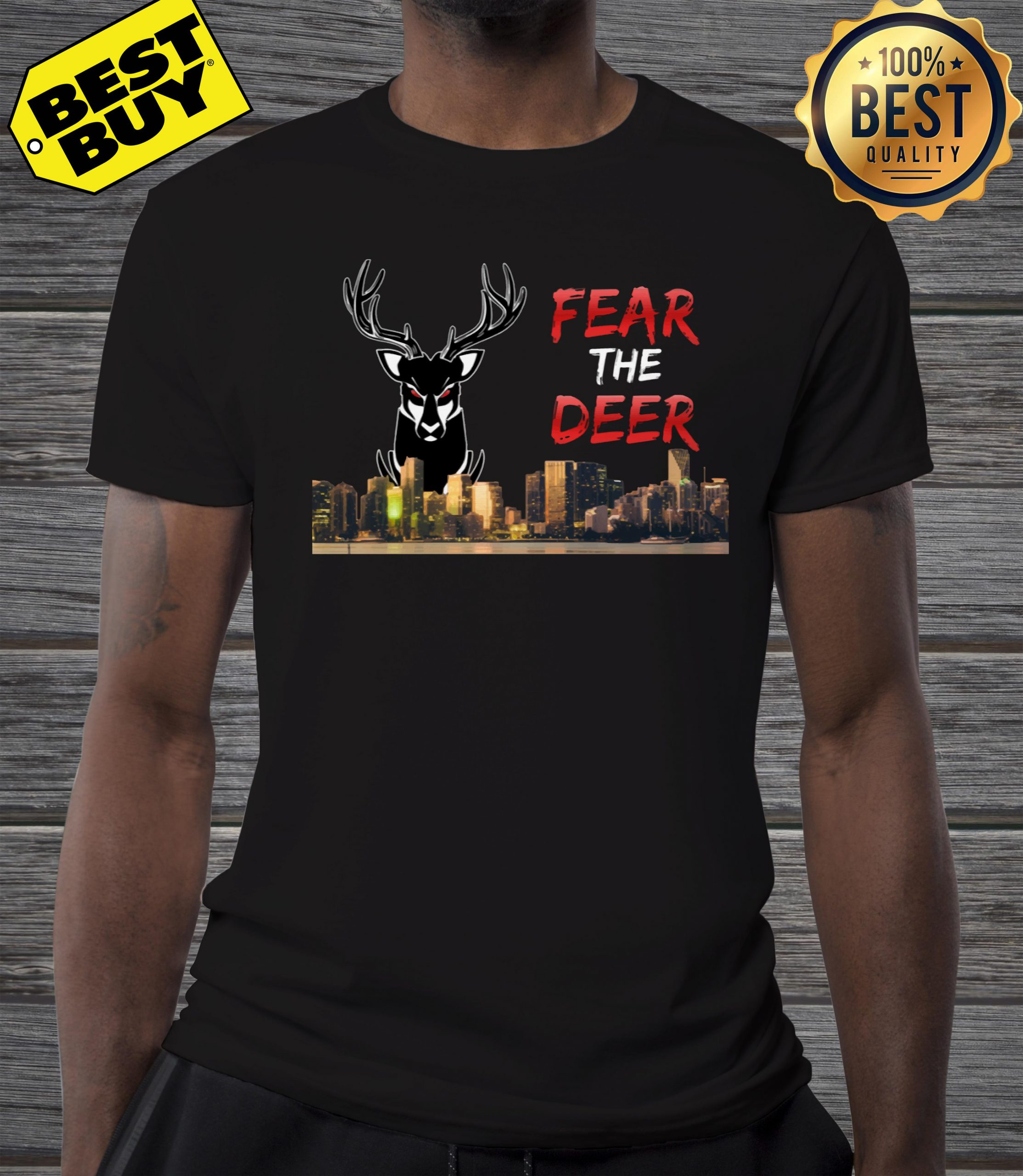 Fear the deer Milwaukee bucks shirt