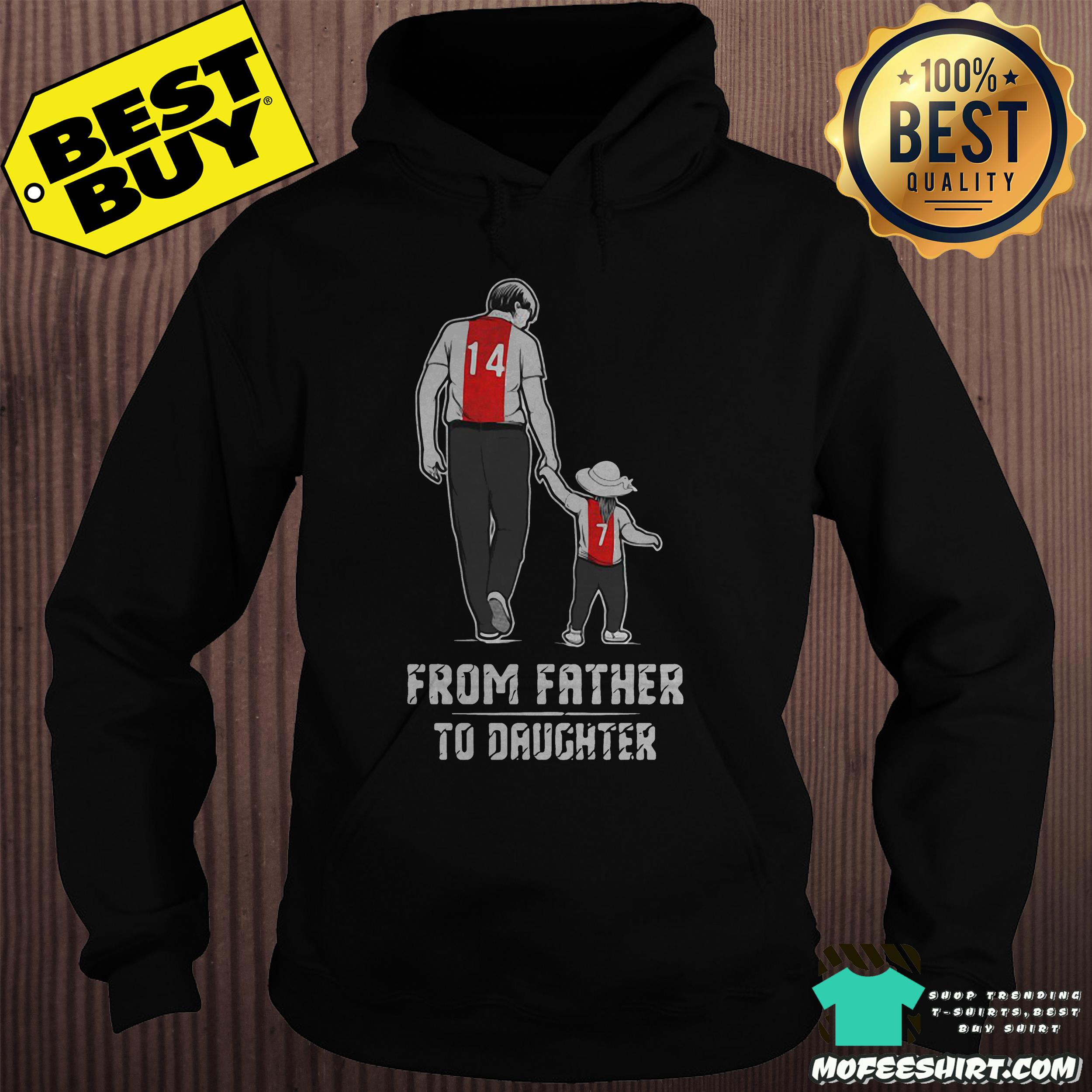 From father to daughter hoodie