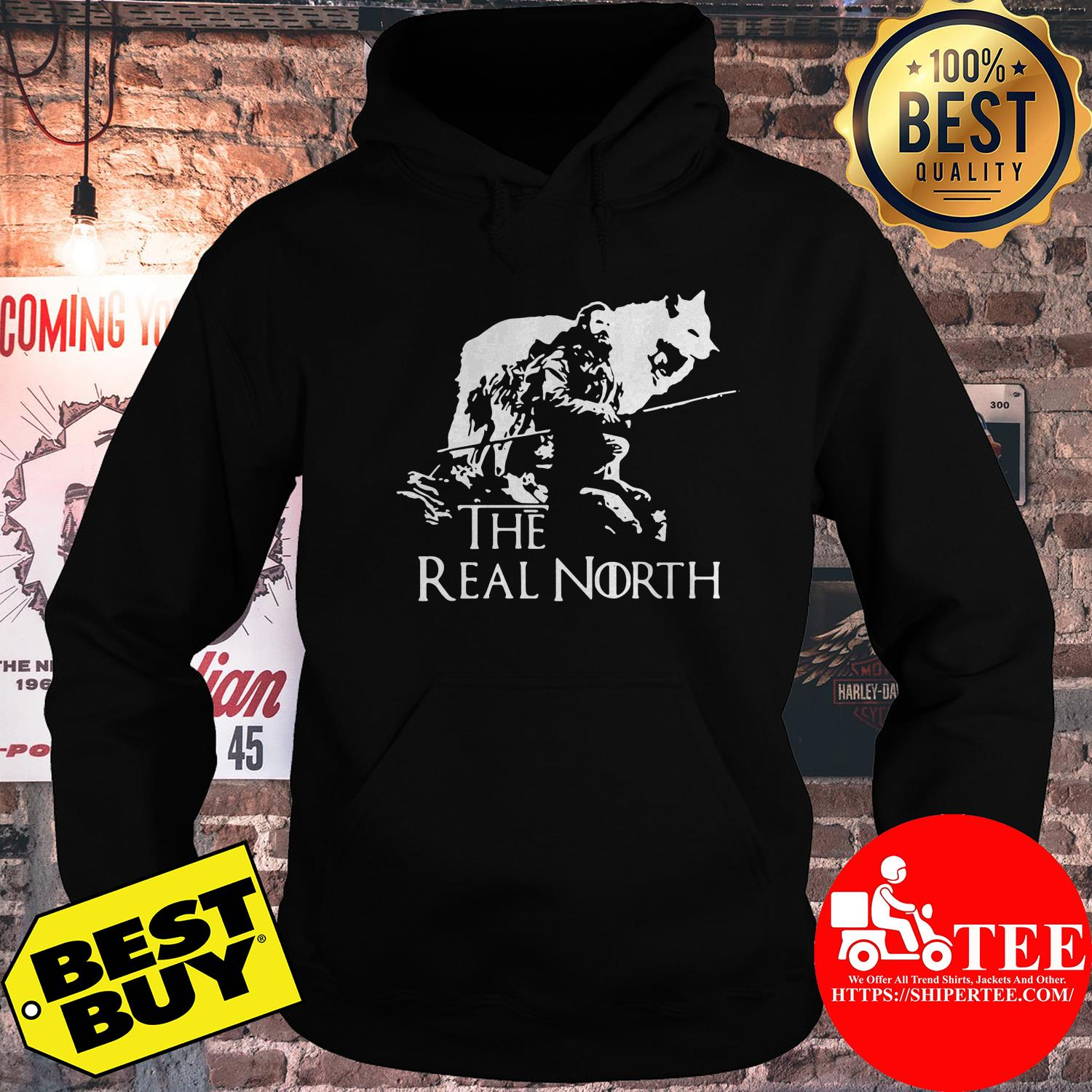 Game of Thrones the real north hoodie