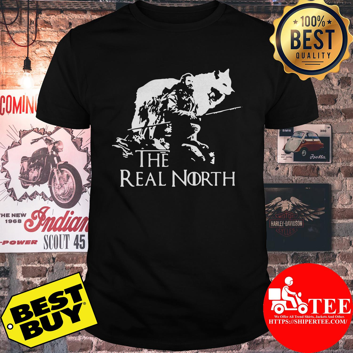 Game of Thrones the real north shirt