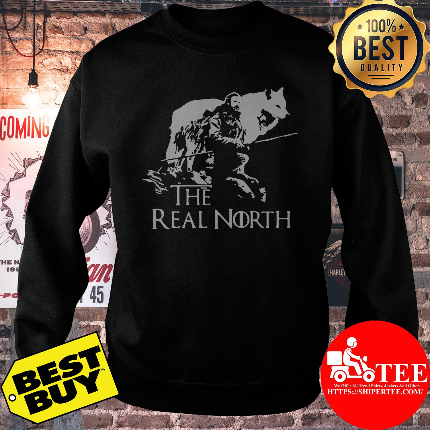 Game of Thrones the real north sweatshirt