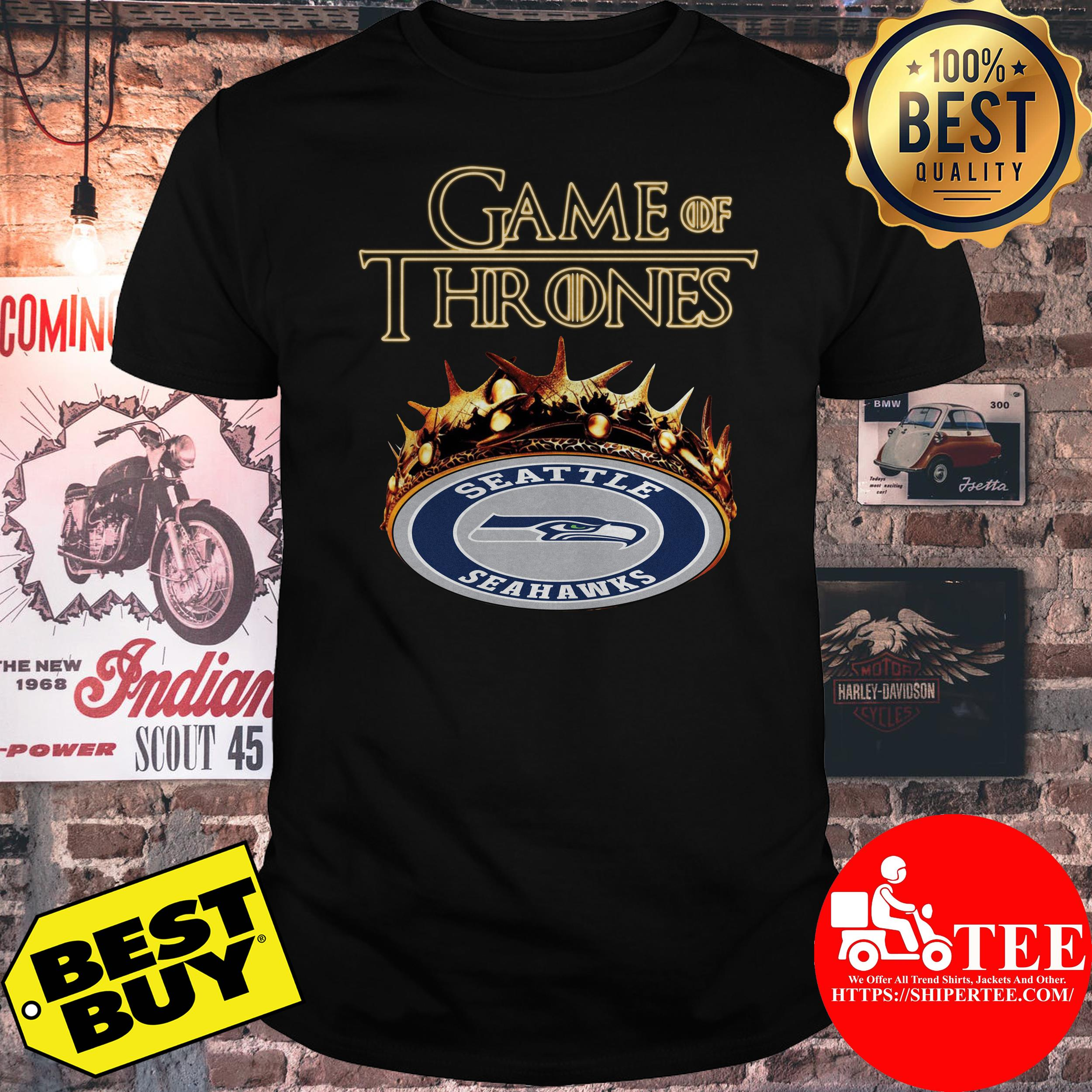 Game of thrones seattle seahawks shirt