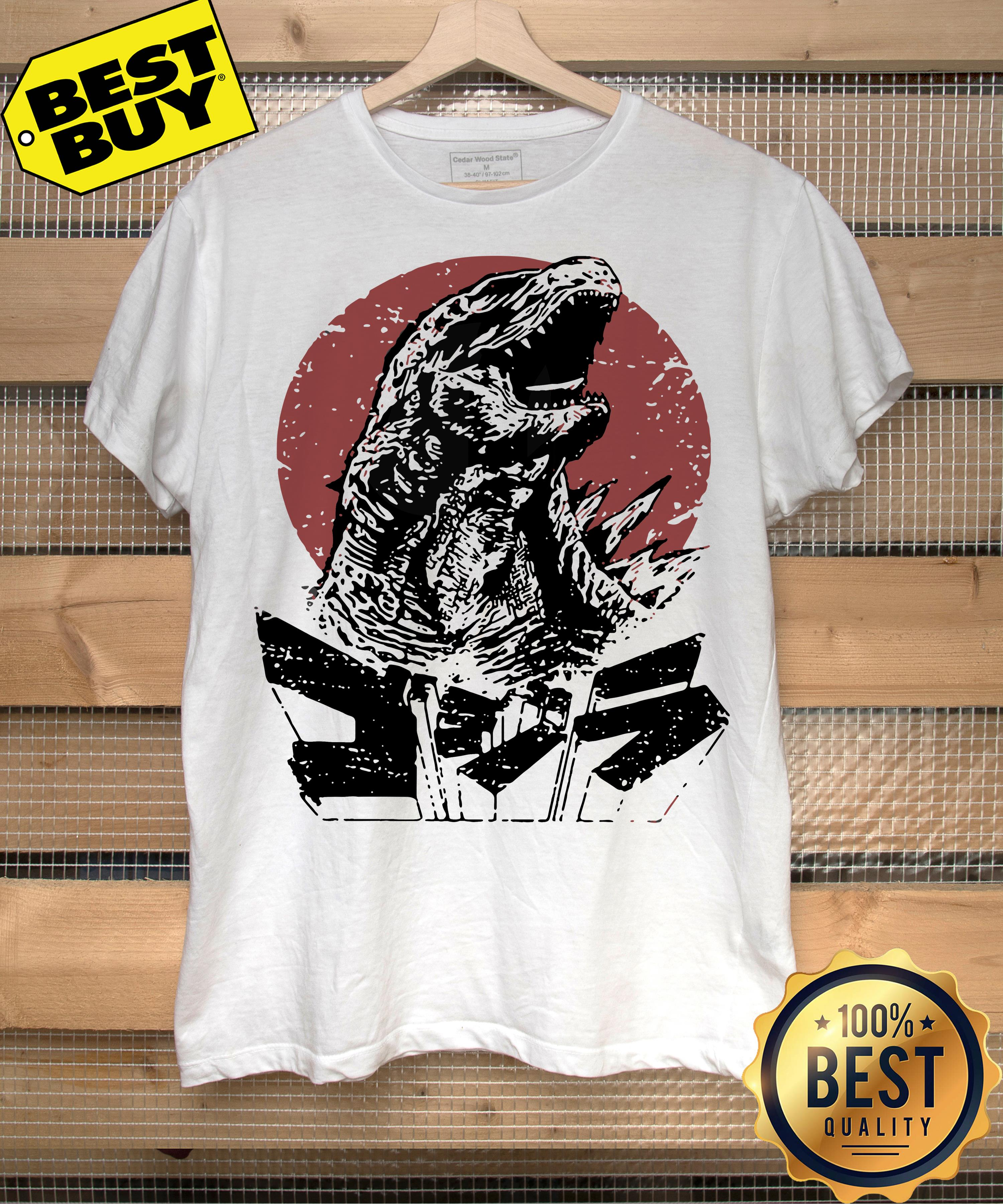 Godzilla King of the monsters ladies tee