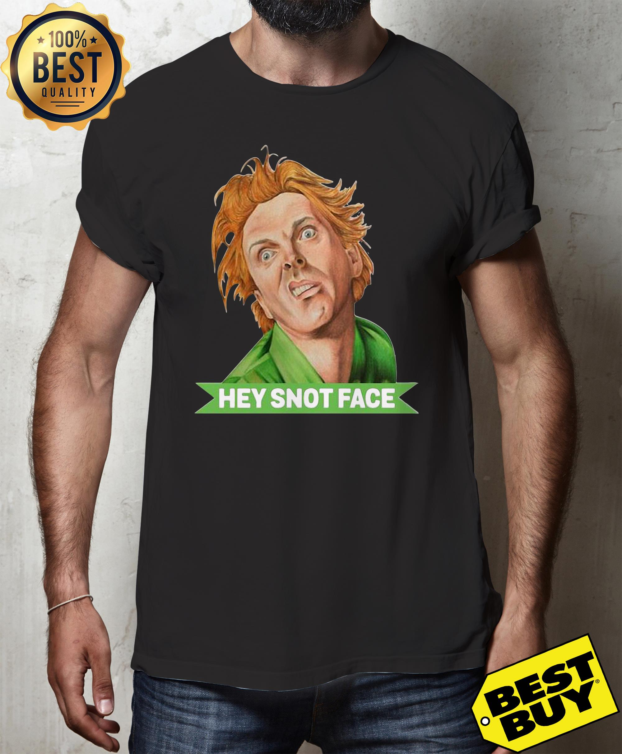 Hey snot face drop dead fred hoodie