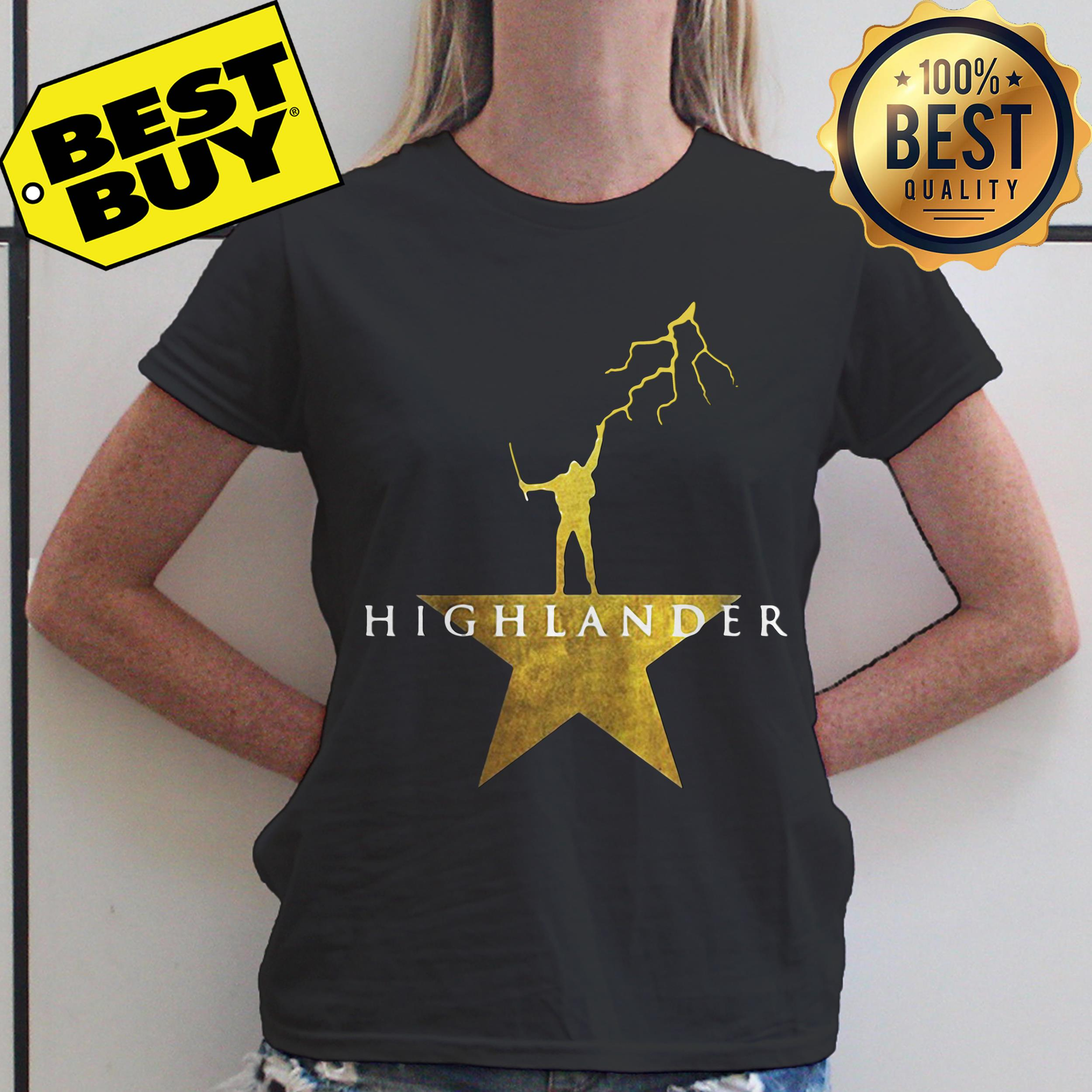 Highlander thunder for honor ladies tee