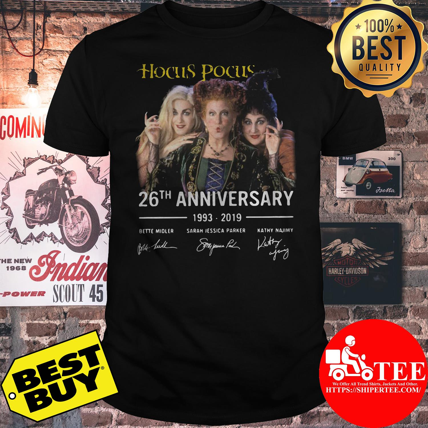Hocus Pocus 26th anniversary 1993-2019 shirt
