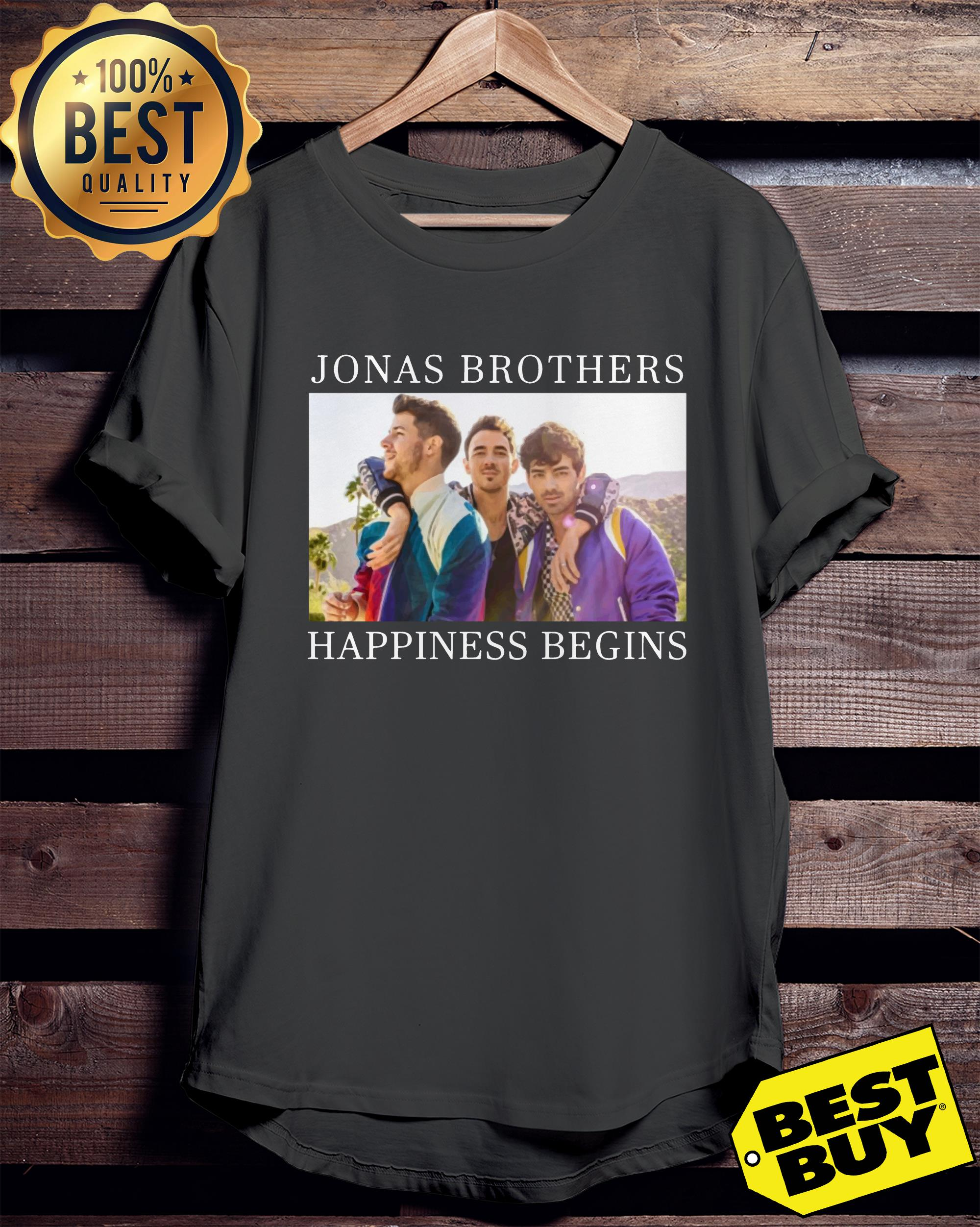 Jonas brothers happiness begins ladies tee