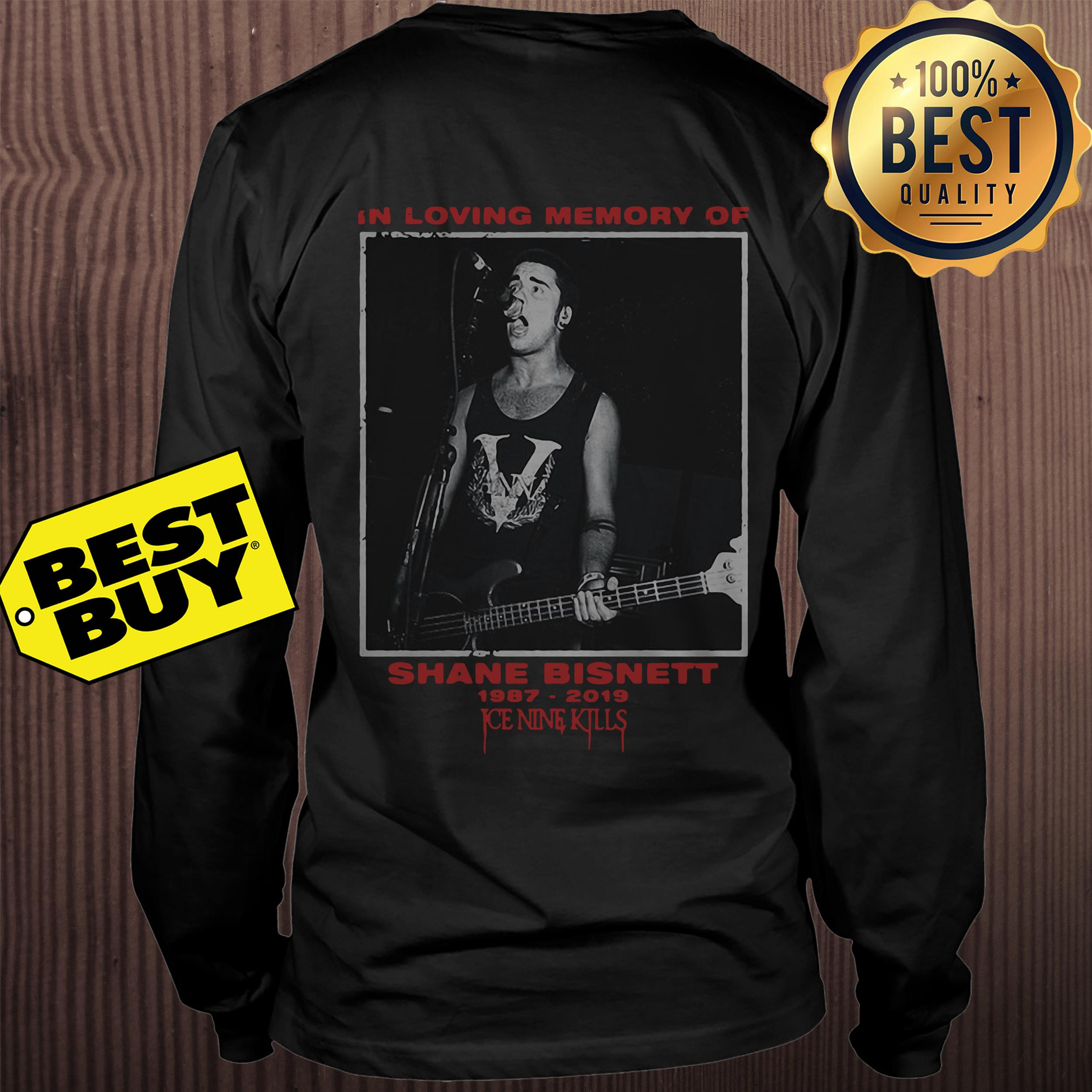 In loving memory of Shane Bisnett 1987-2019 Ice Nine kills sweatshirt