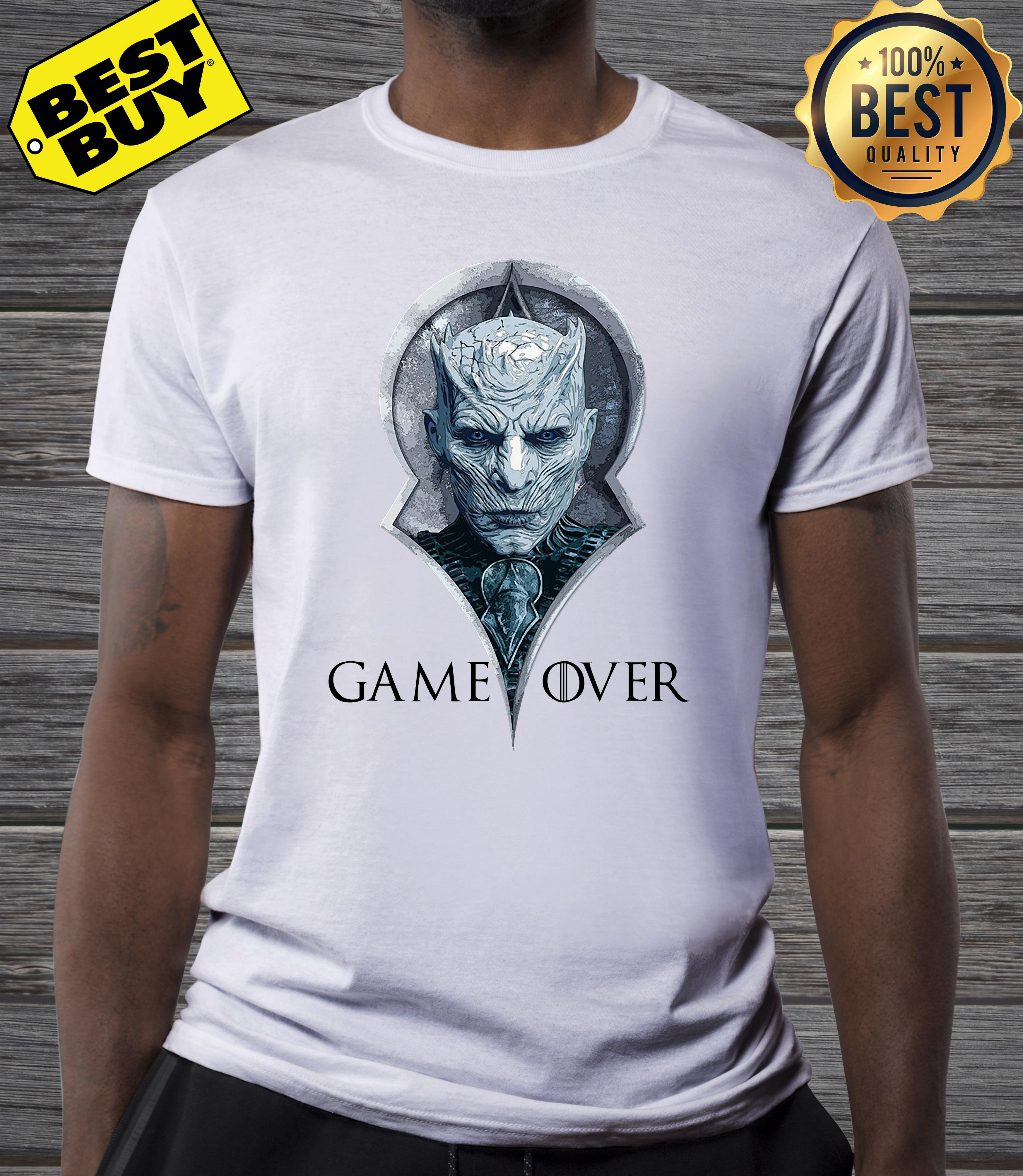 Night king game over Game of Thrones v neck