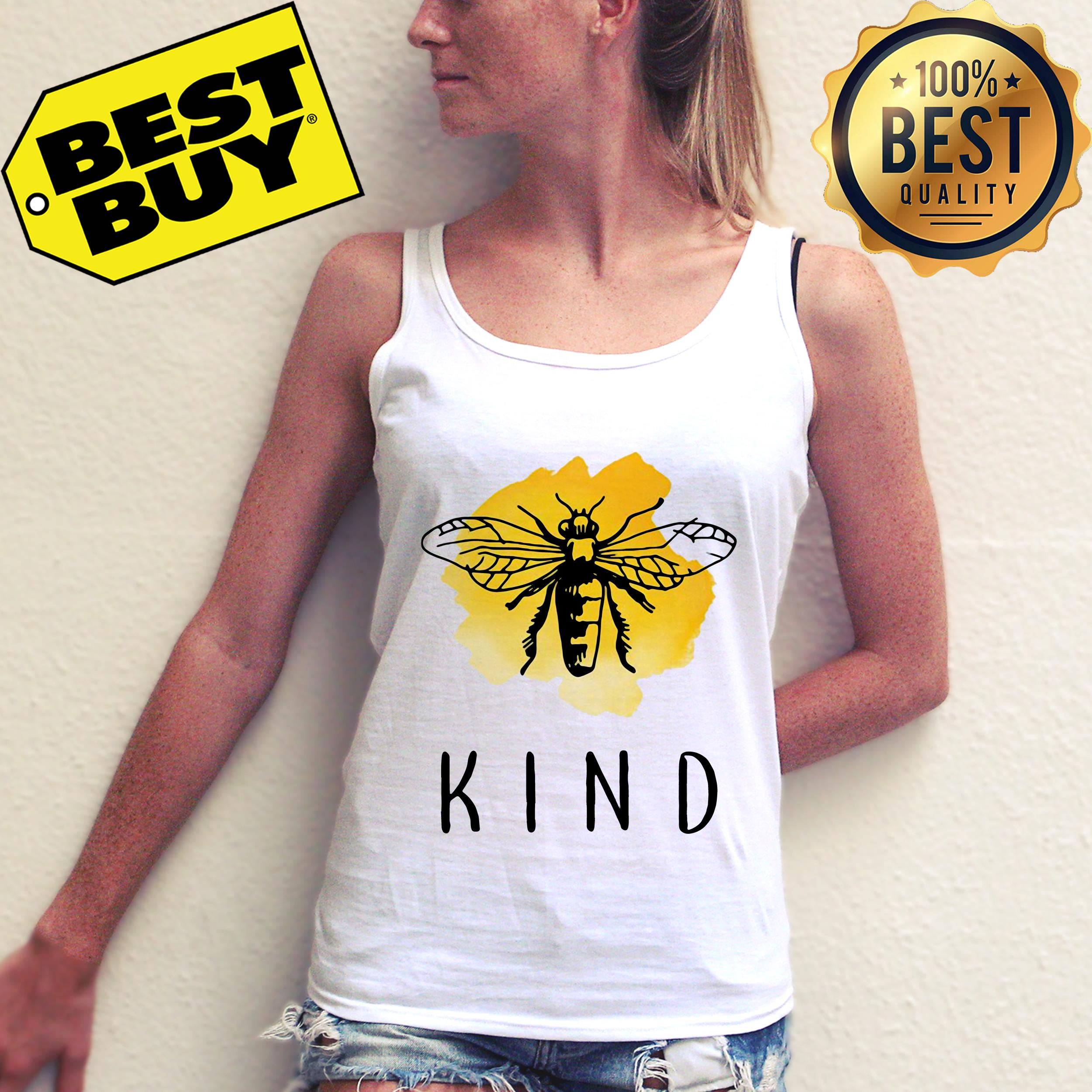 Official Bee Kind tank top