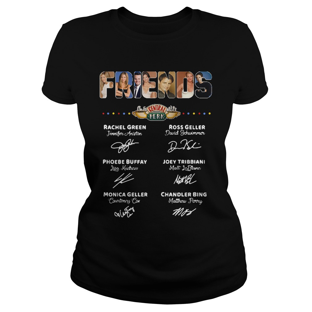Official Friends central perk ladies tee