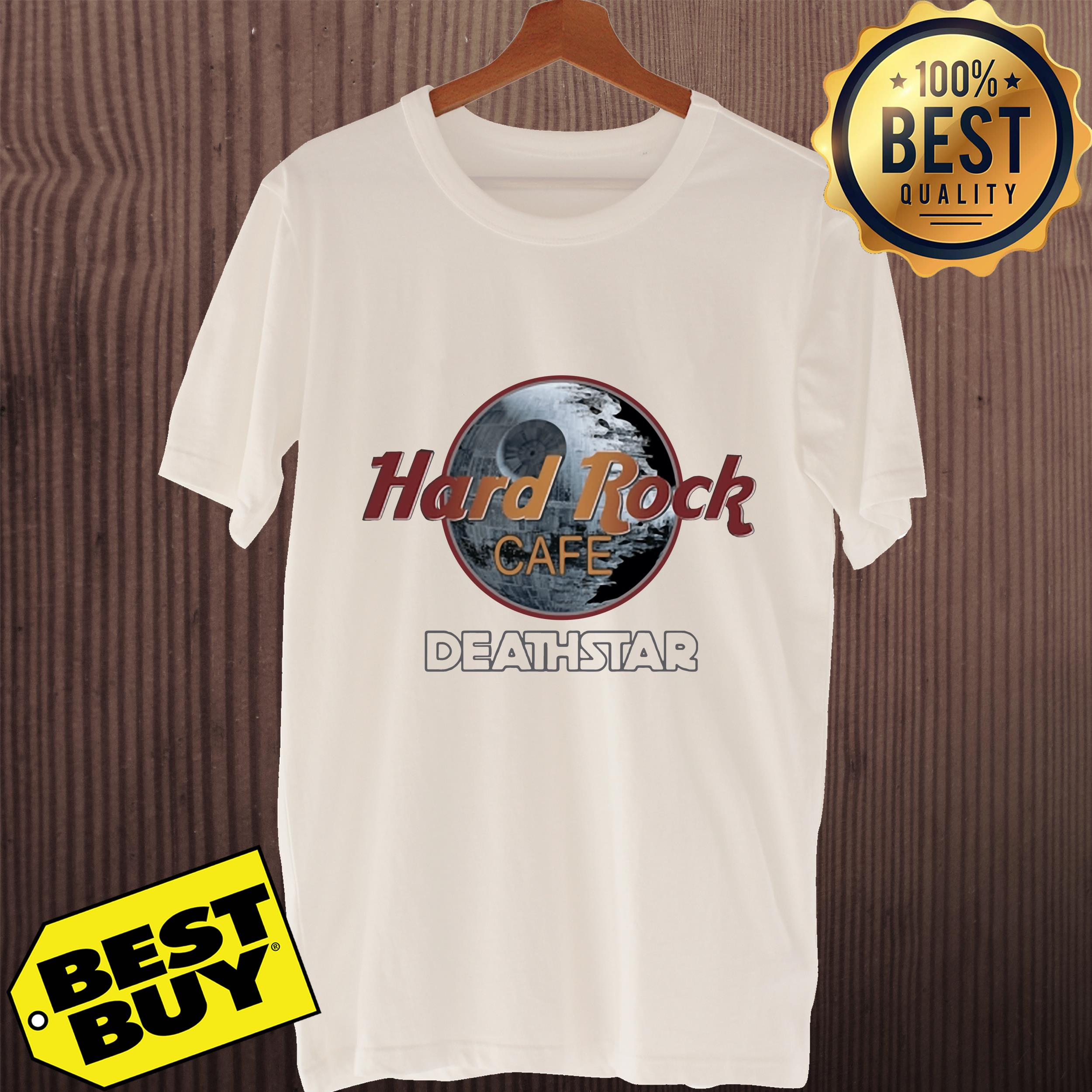 Official Hard Rock cafe Death Star ladies tee