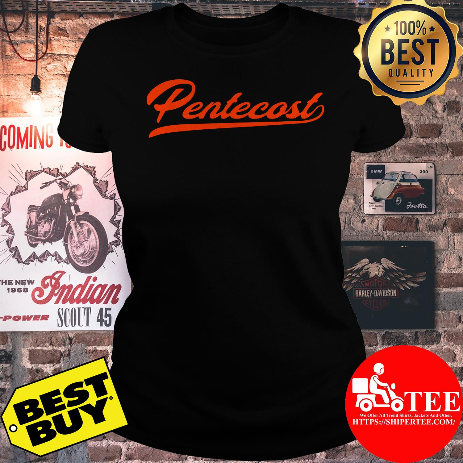 Official Premium Pentecost ladies tee