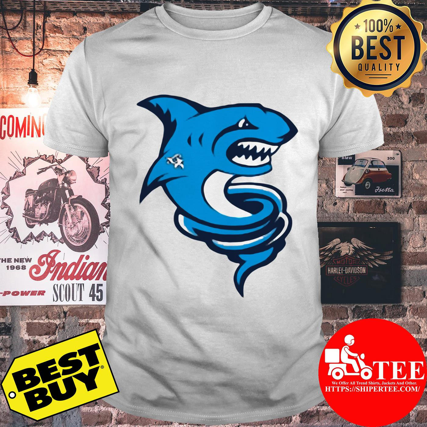 Official Premium Tornado Shark Shirt