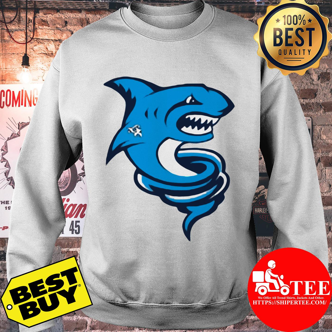 Official Premium Tornado Shark sweatshirt