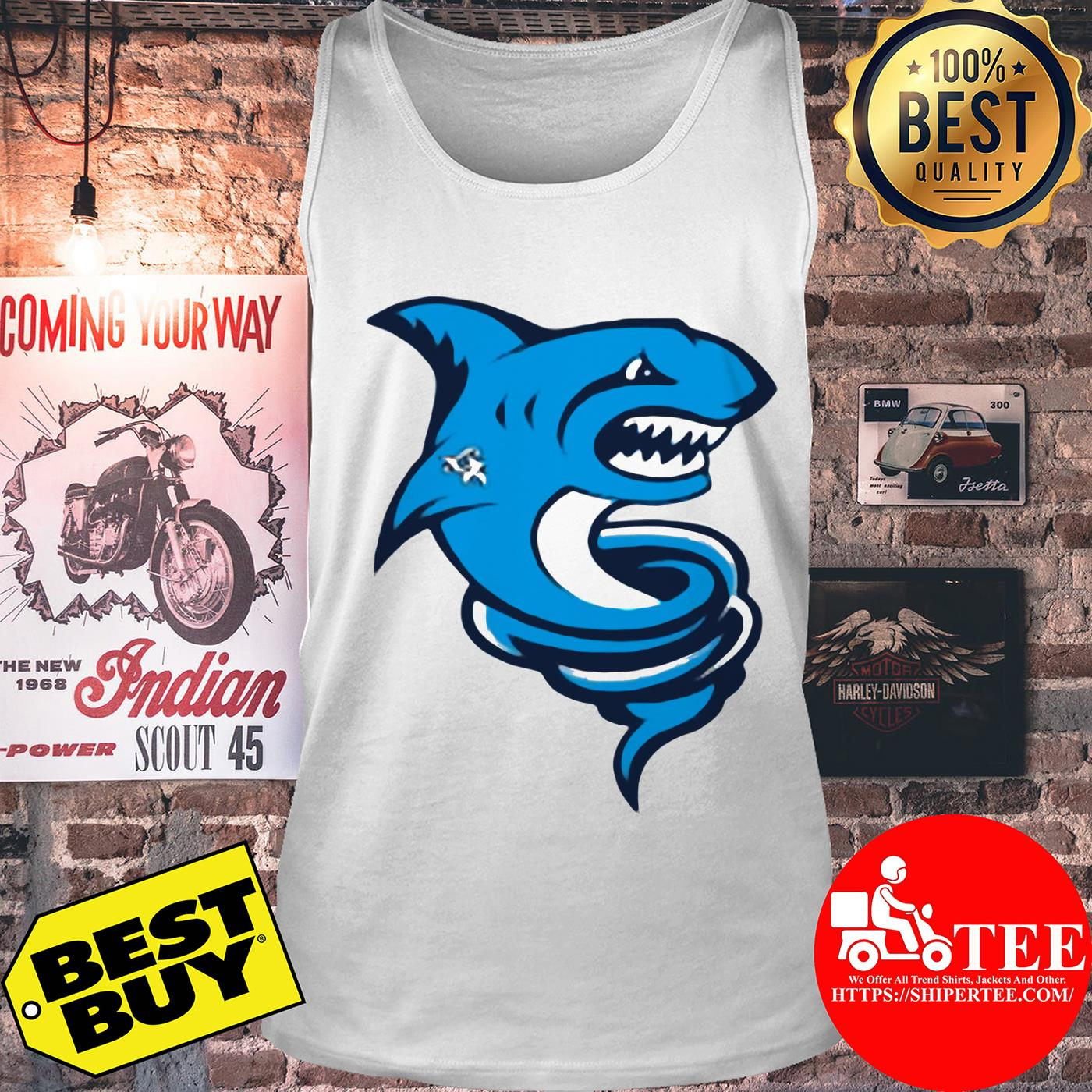 Official Premium Tornado Shark tank top