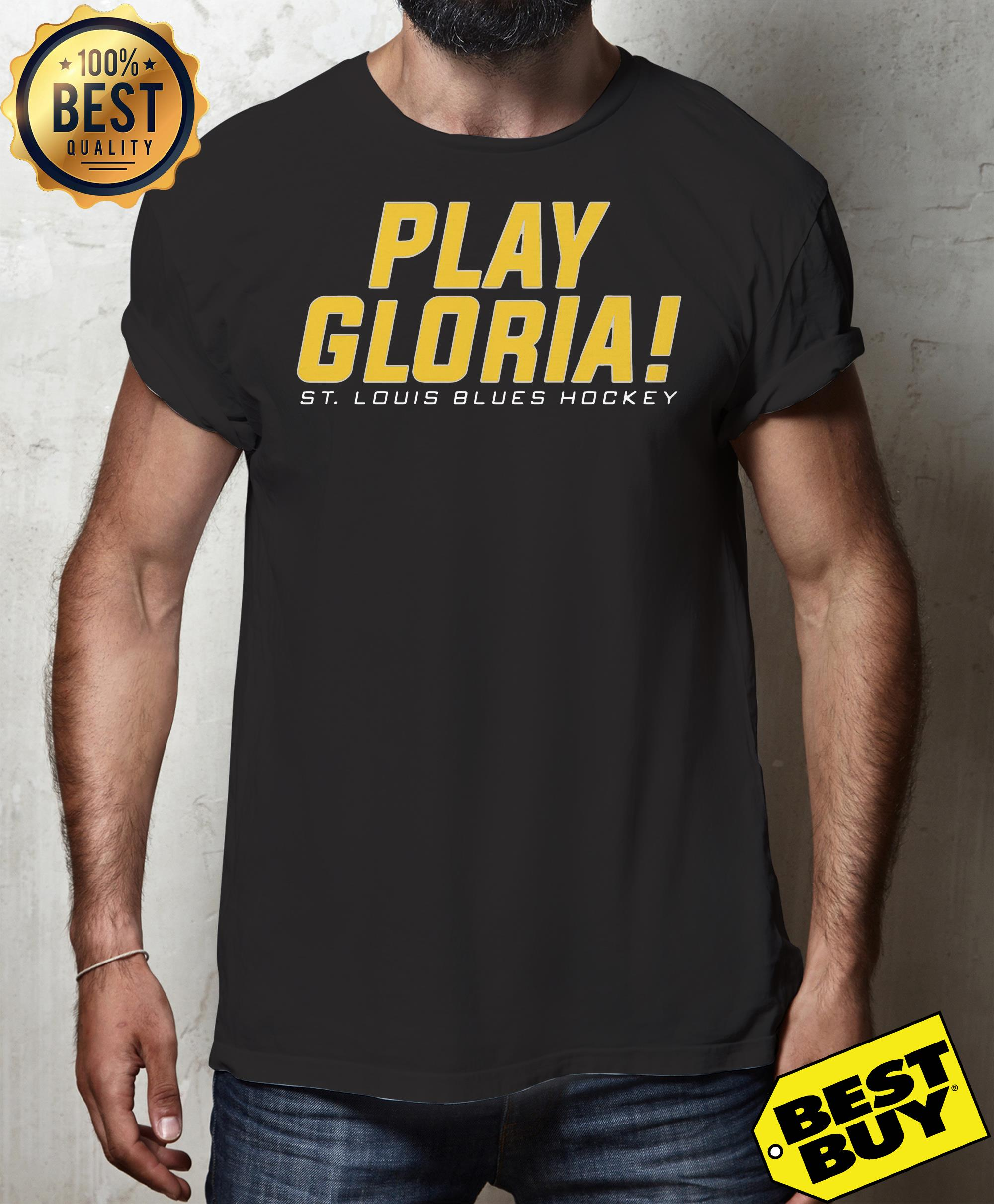 Play gloria st louis blues hockey hoodie