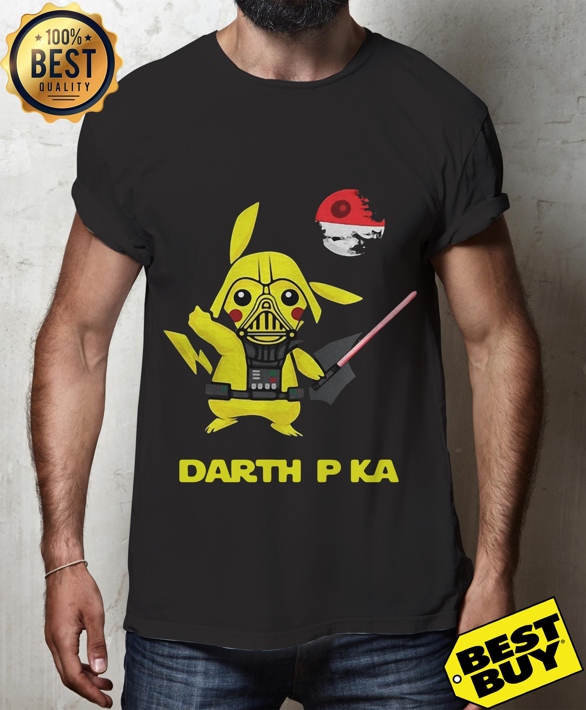 Pokemon ball darth pka shirt