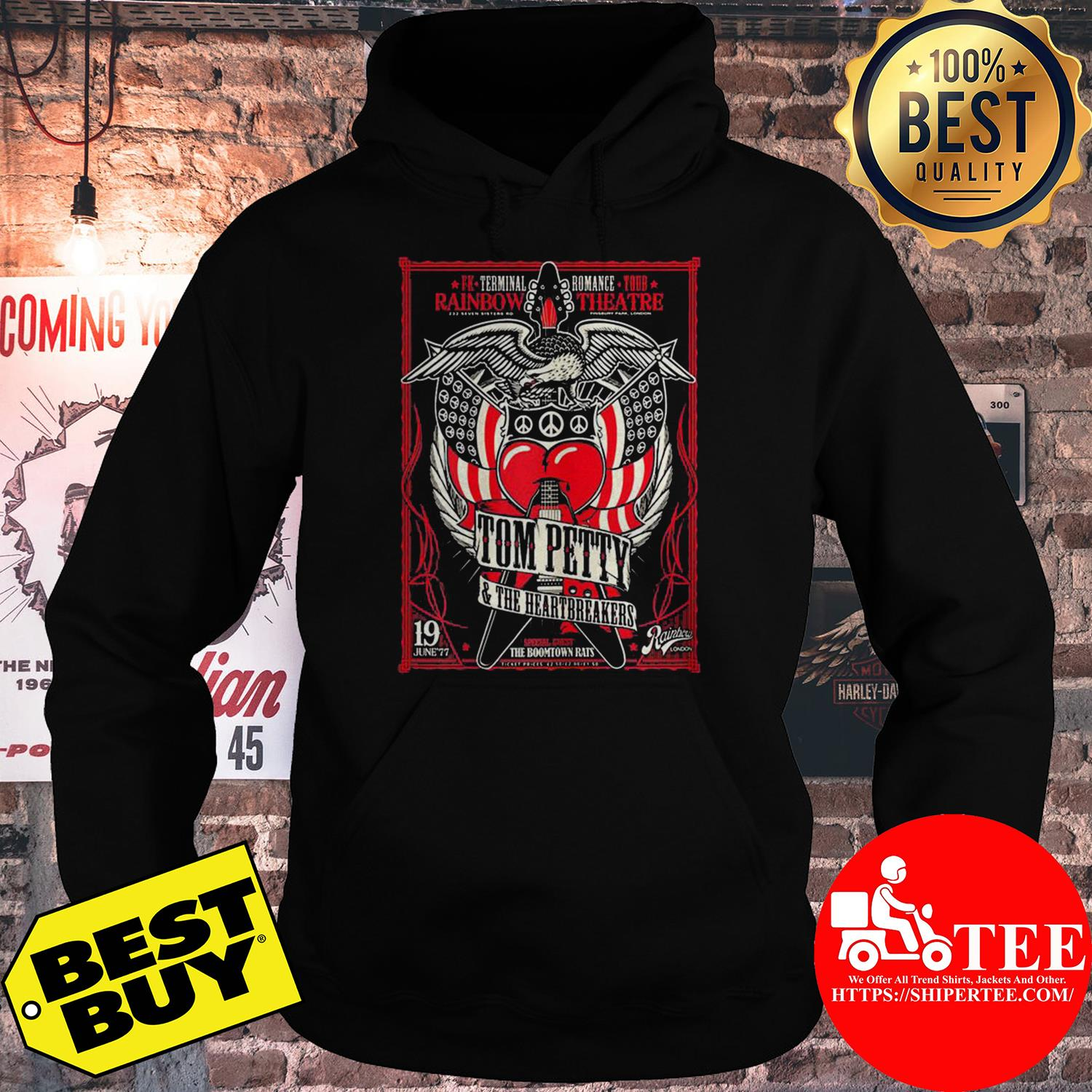 Rainbow theater Tom Petty and the Heartbreakers hoodie