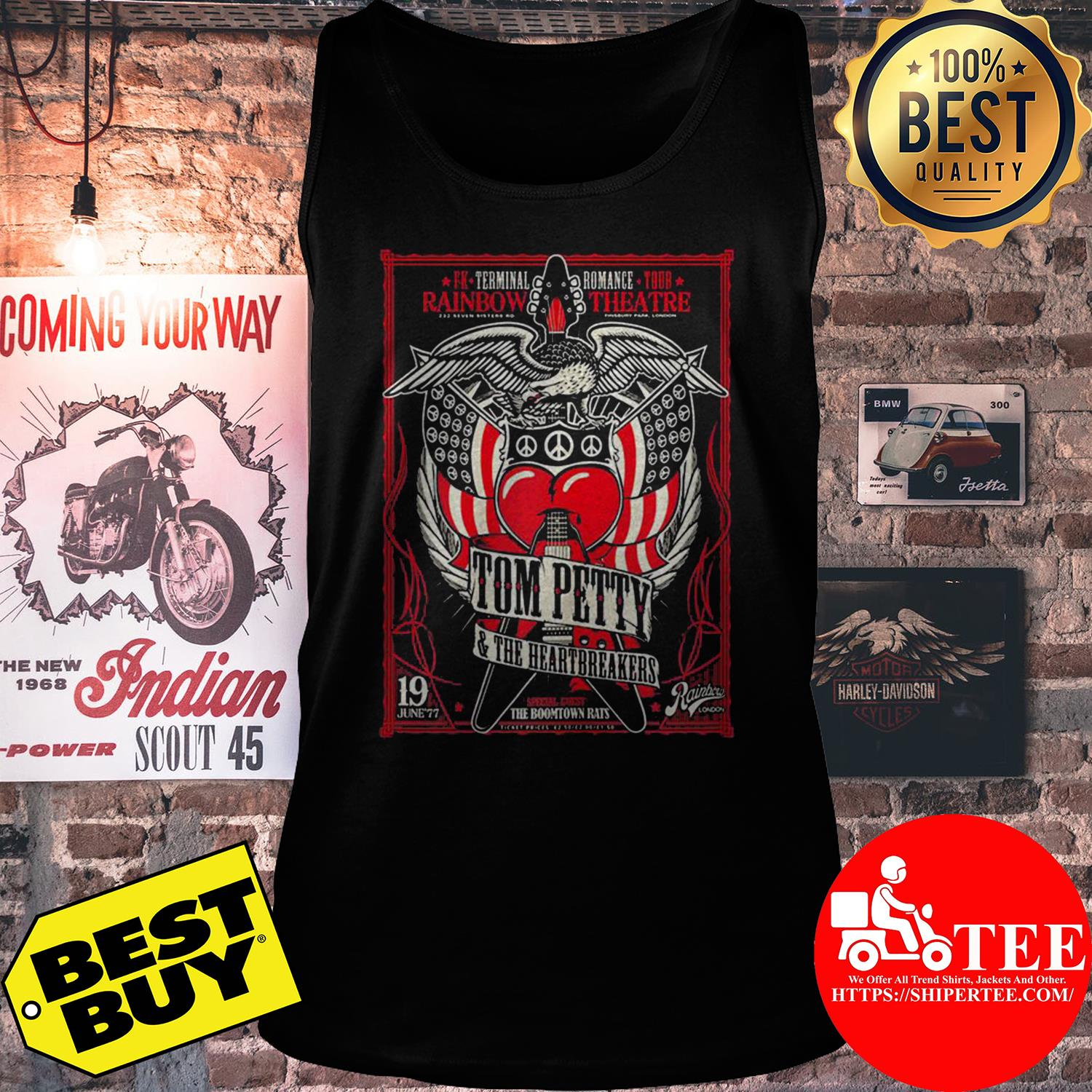 Rainbow theater Tom Petty and the Heartbreakers tank top