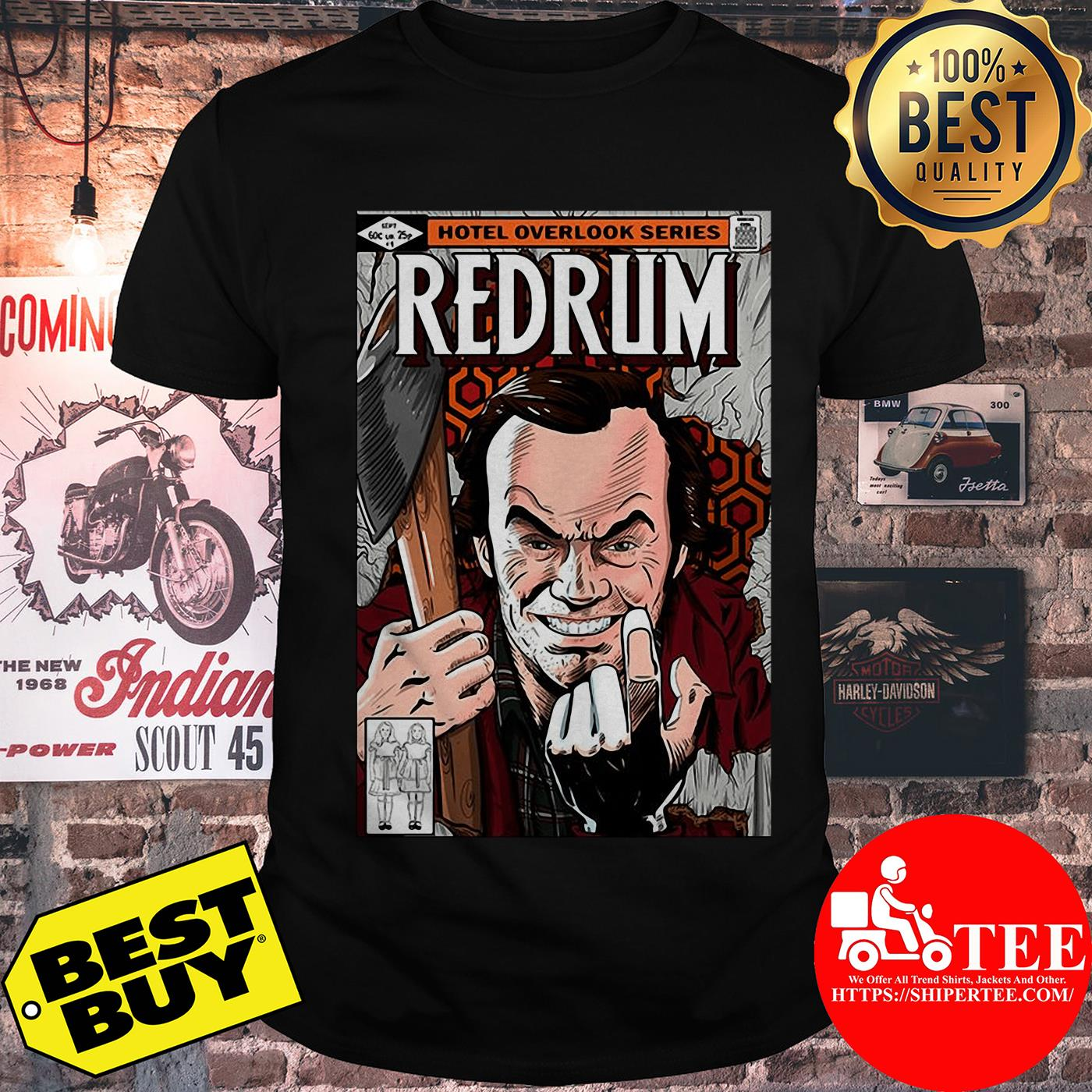 Redrum hotel overlook series by Mariano San shirt