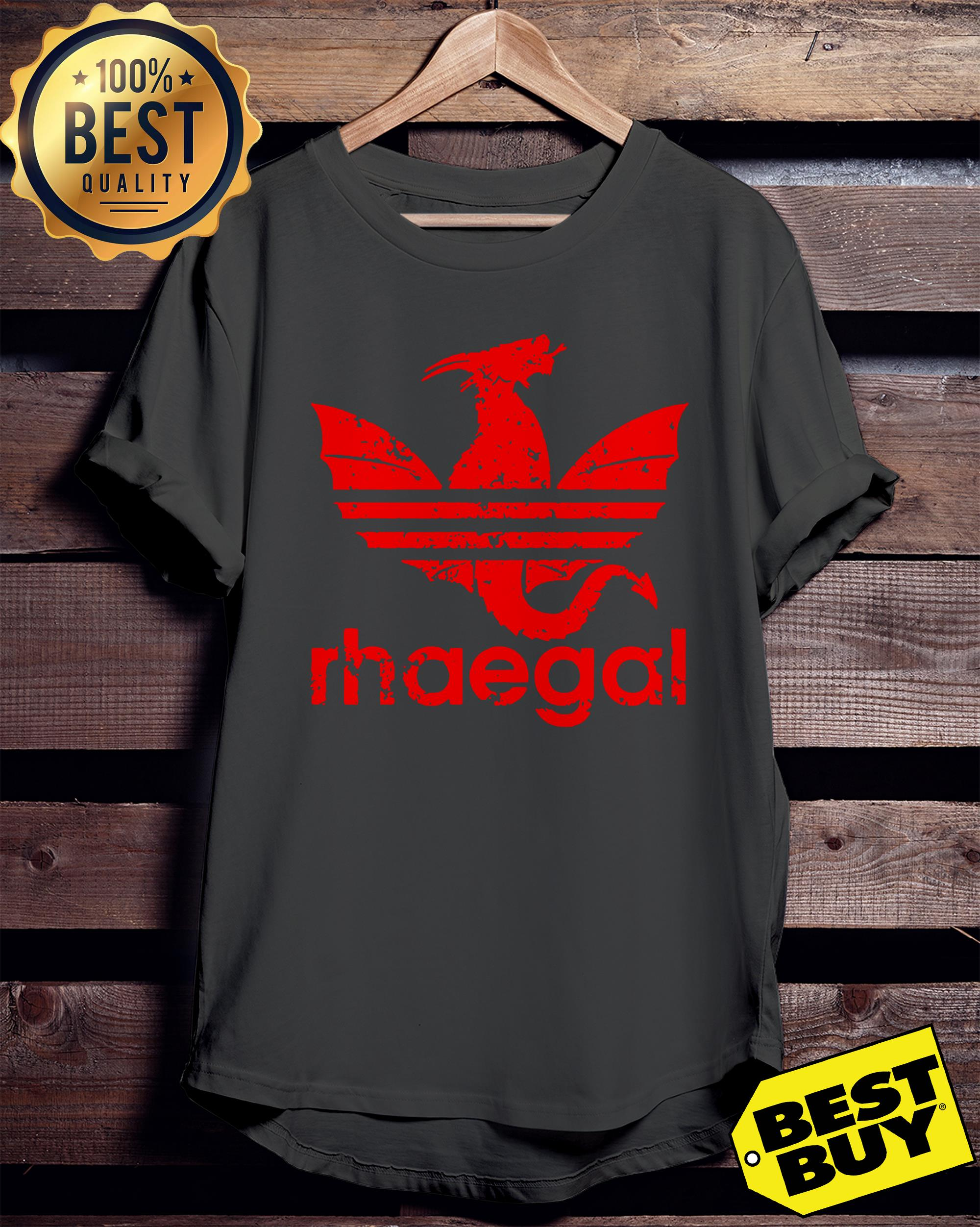 Rhaegal Adidas game of thrones ladies tee