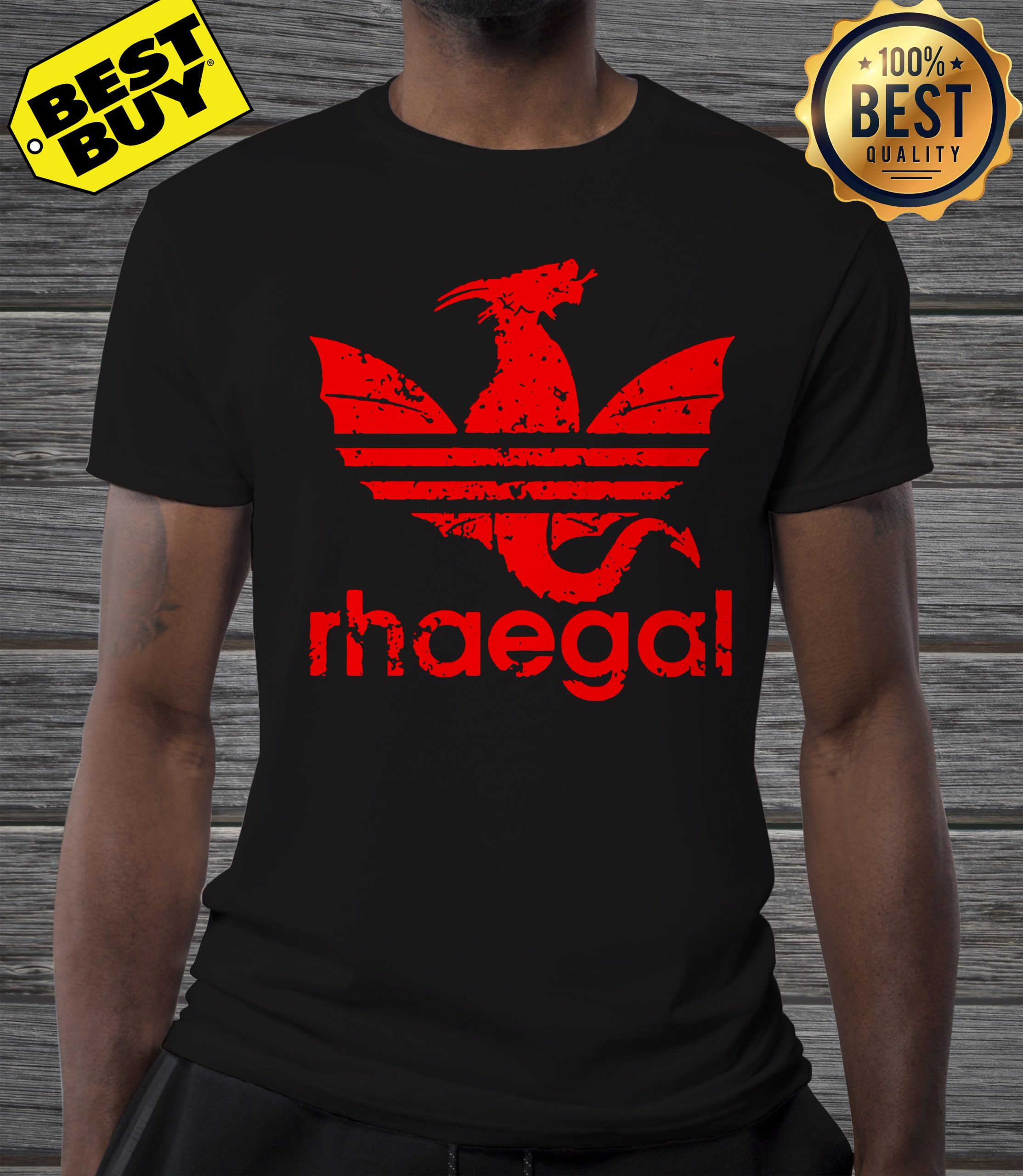 Rhaegal Adidas game of thrones shirt