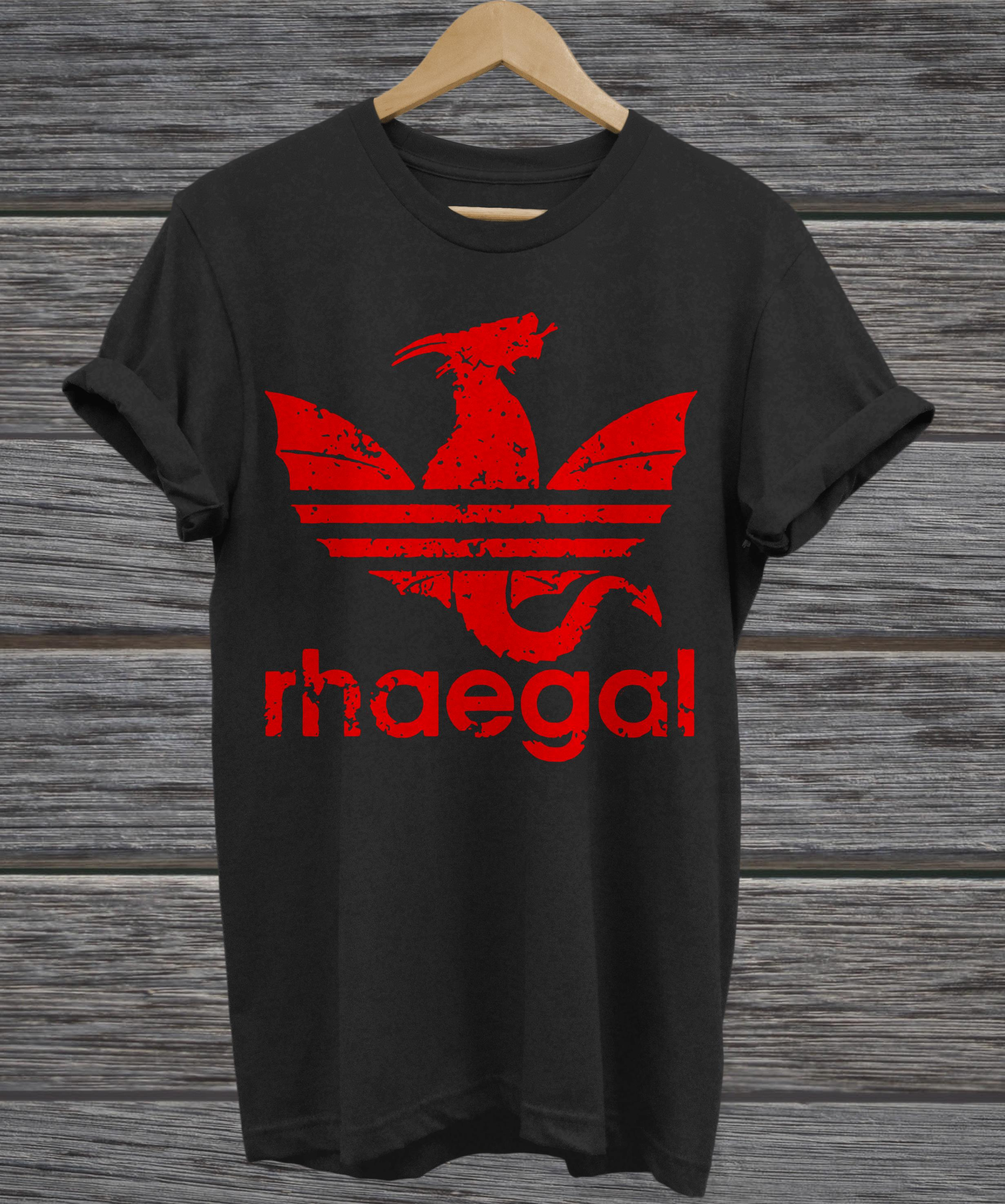 Rhaegal Adidas game of thrones v-neck
