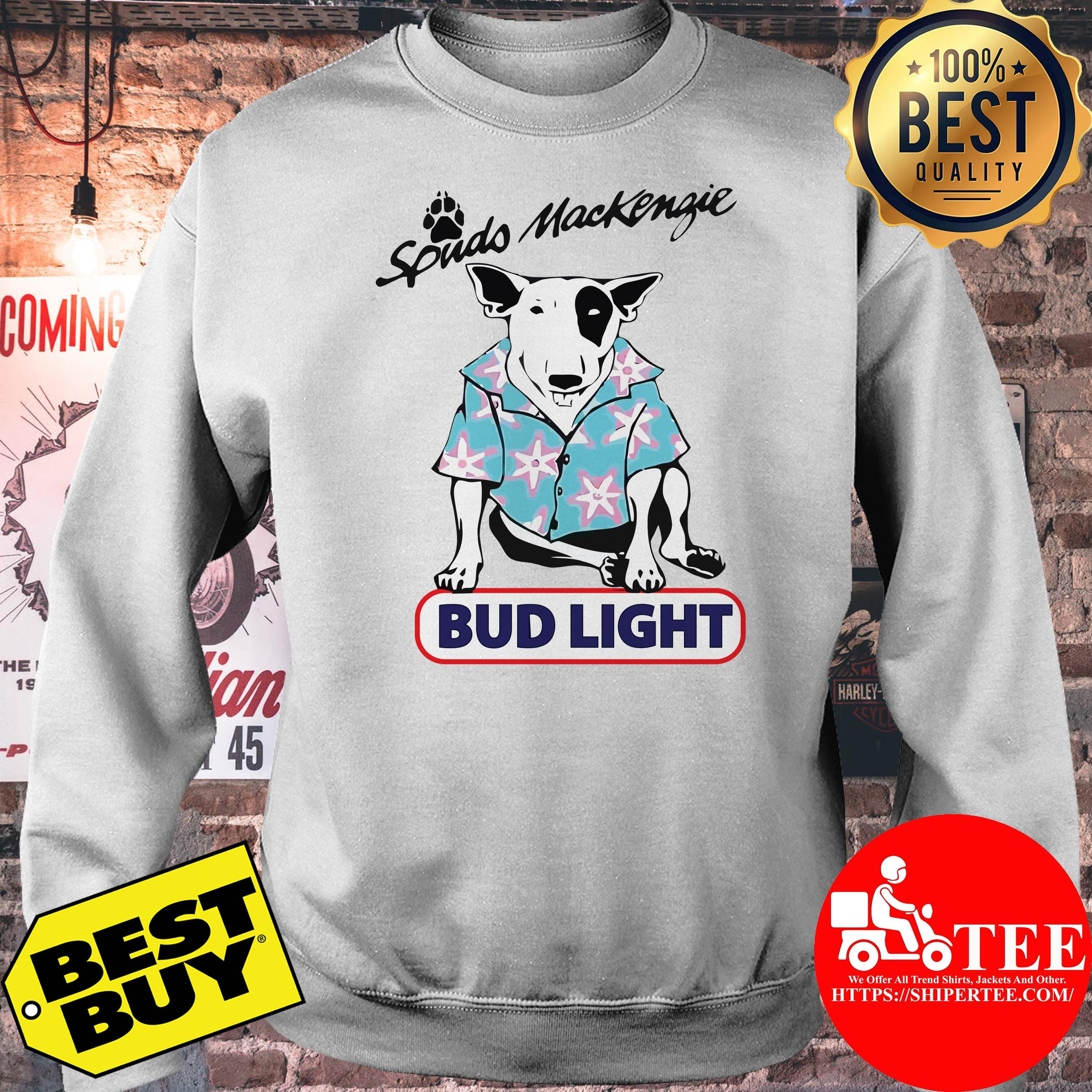 Spuds Mackenzie bud light sweatshirt