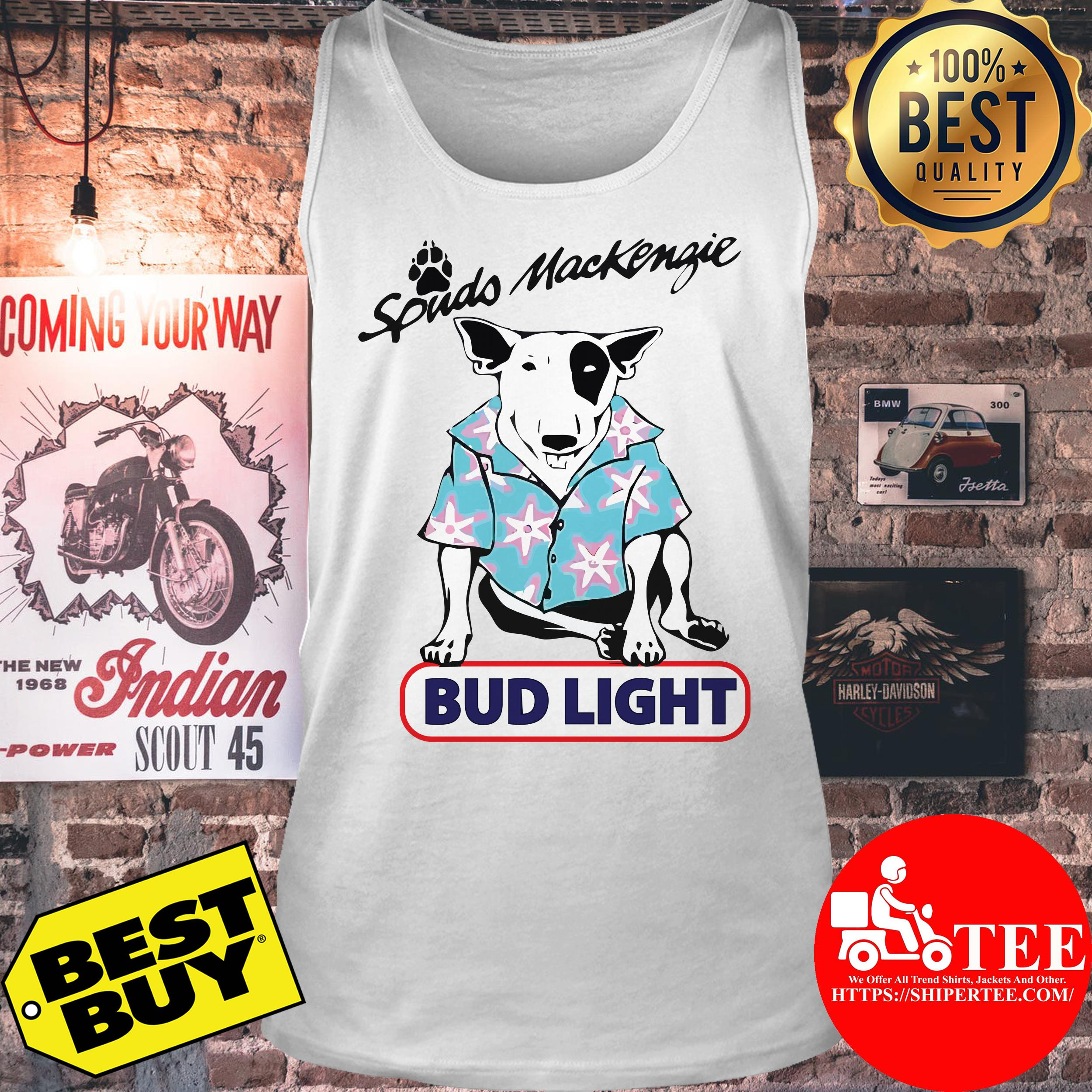 Spuds Mackenzie bud light tank top