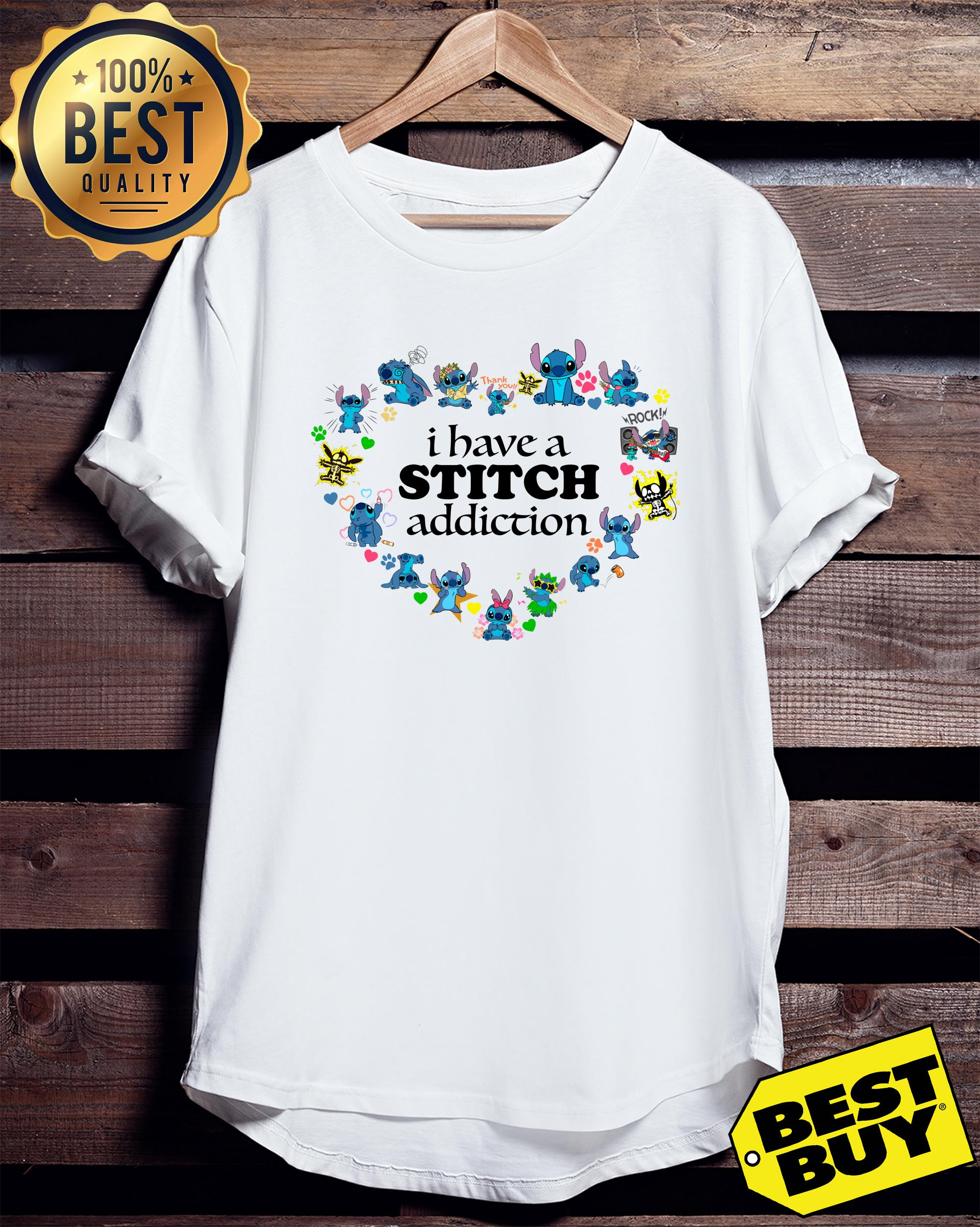 I have a stitch addition funny Lilo ladies tee