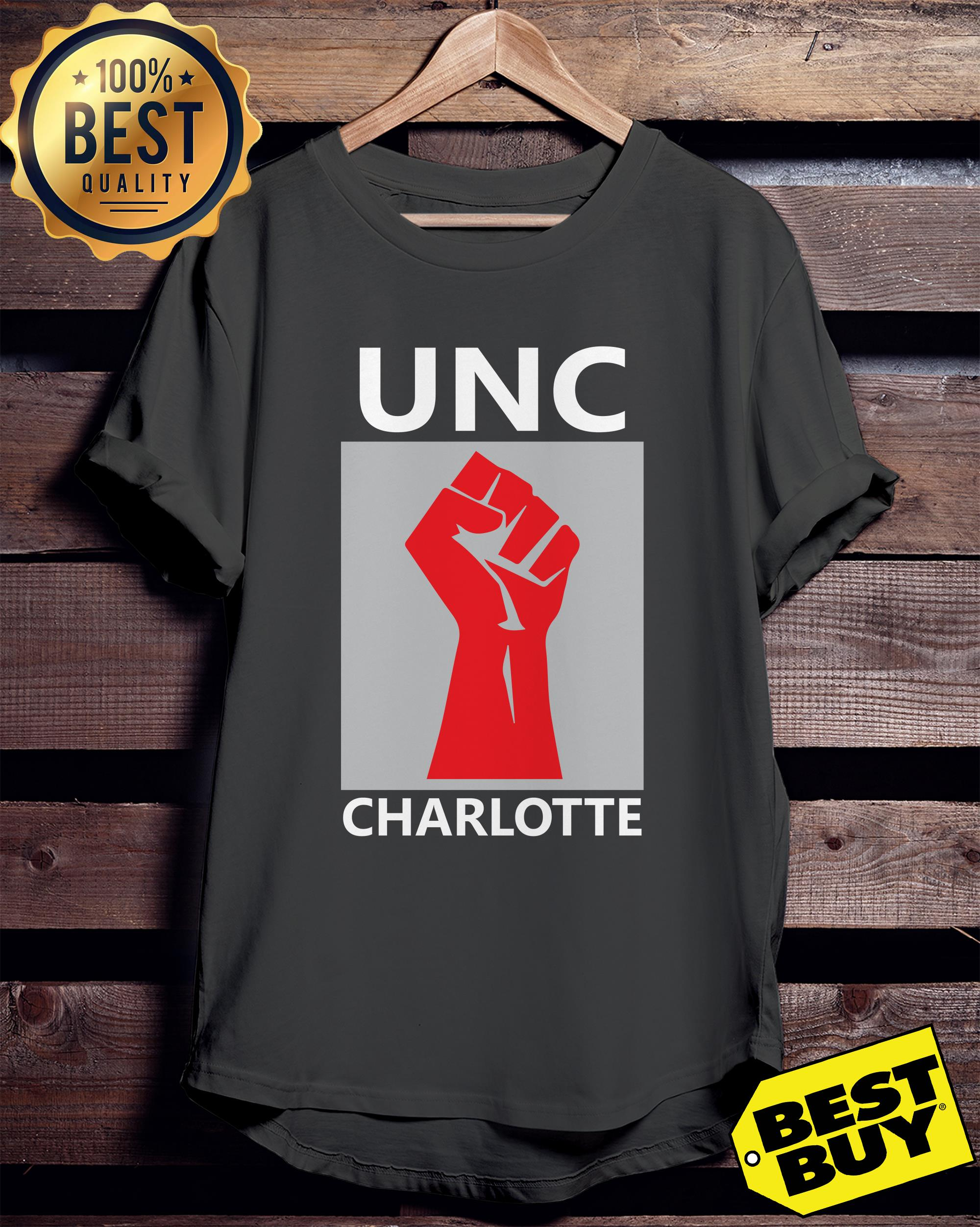 Official Strong UNC Charlotte ladies tee