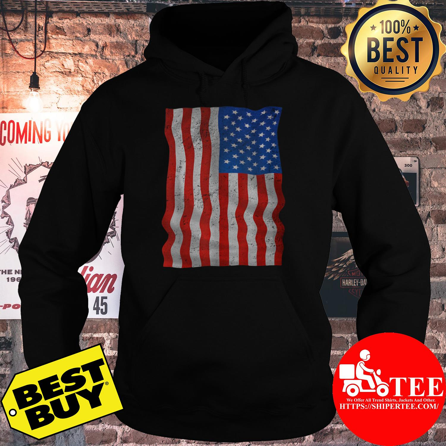 4th Of July American Flag Day Of Independence hoodie