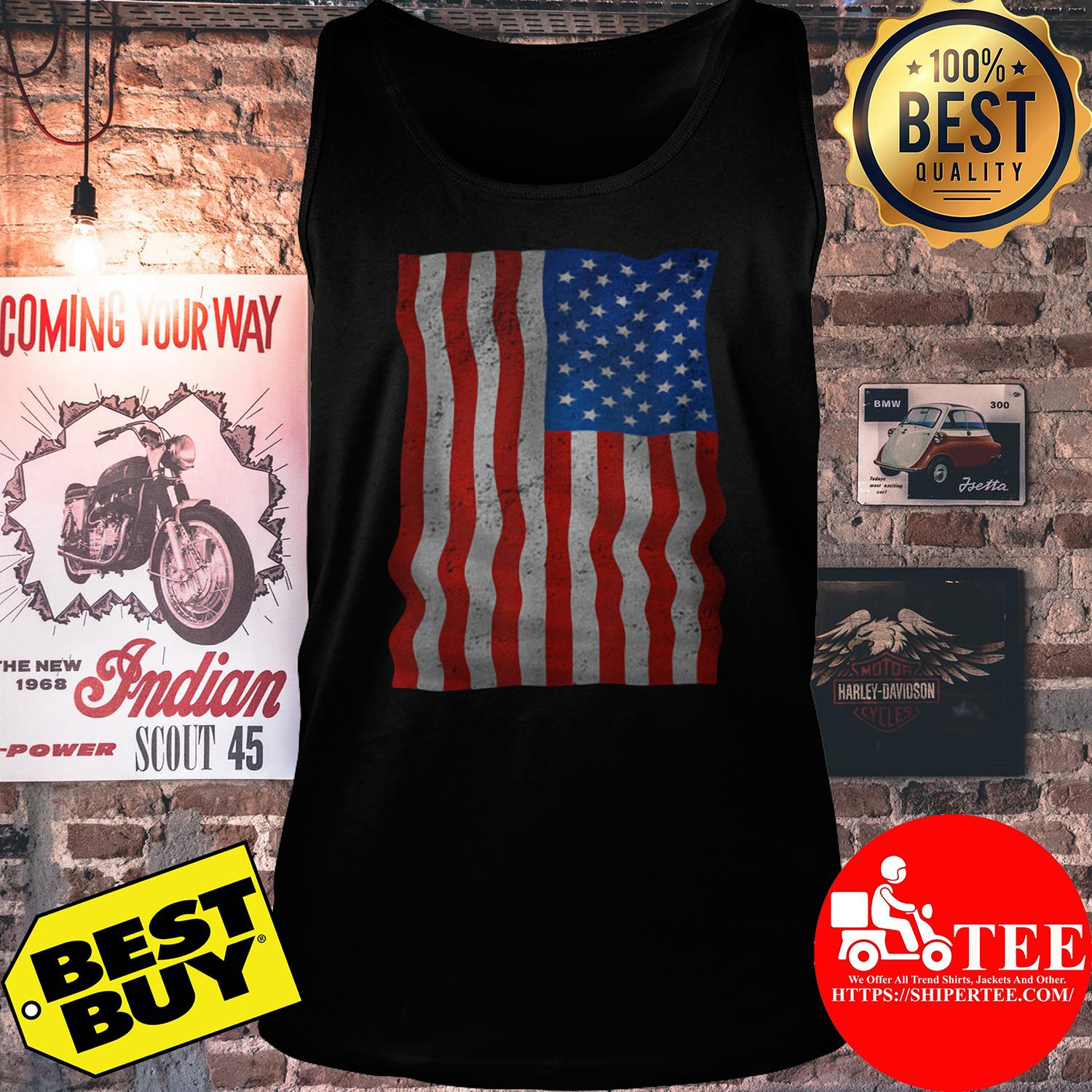 4th Of July American Flag Day Of Independence tank top