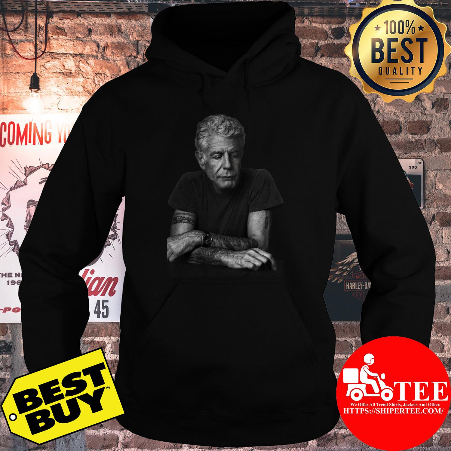 Anthony Bourdain Gildan Father's Day Gift hoodie