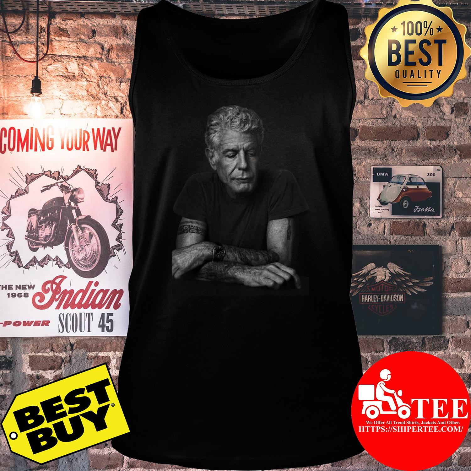 Anthony Bourdain Gildan Father's Day Gift tank top